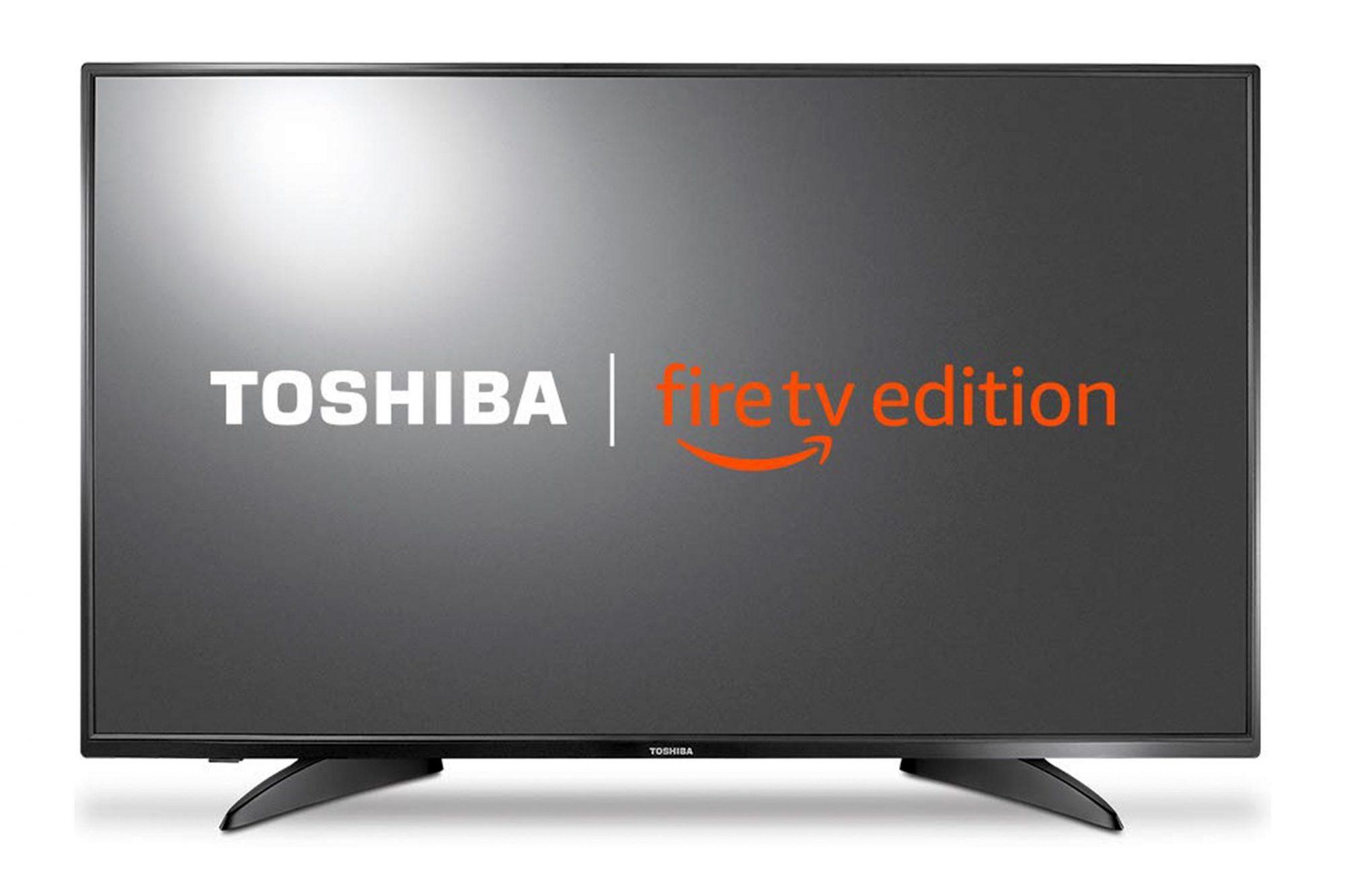 Toshiba 43LF421U19 43-inch 1080p Full HD Smart LED TV - Fire TV Edition CR: Amazon