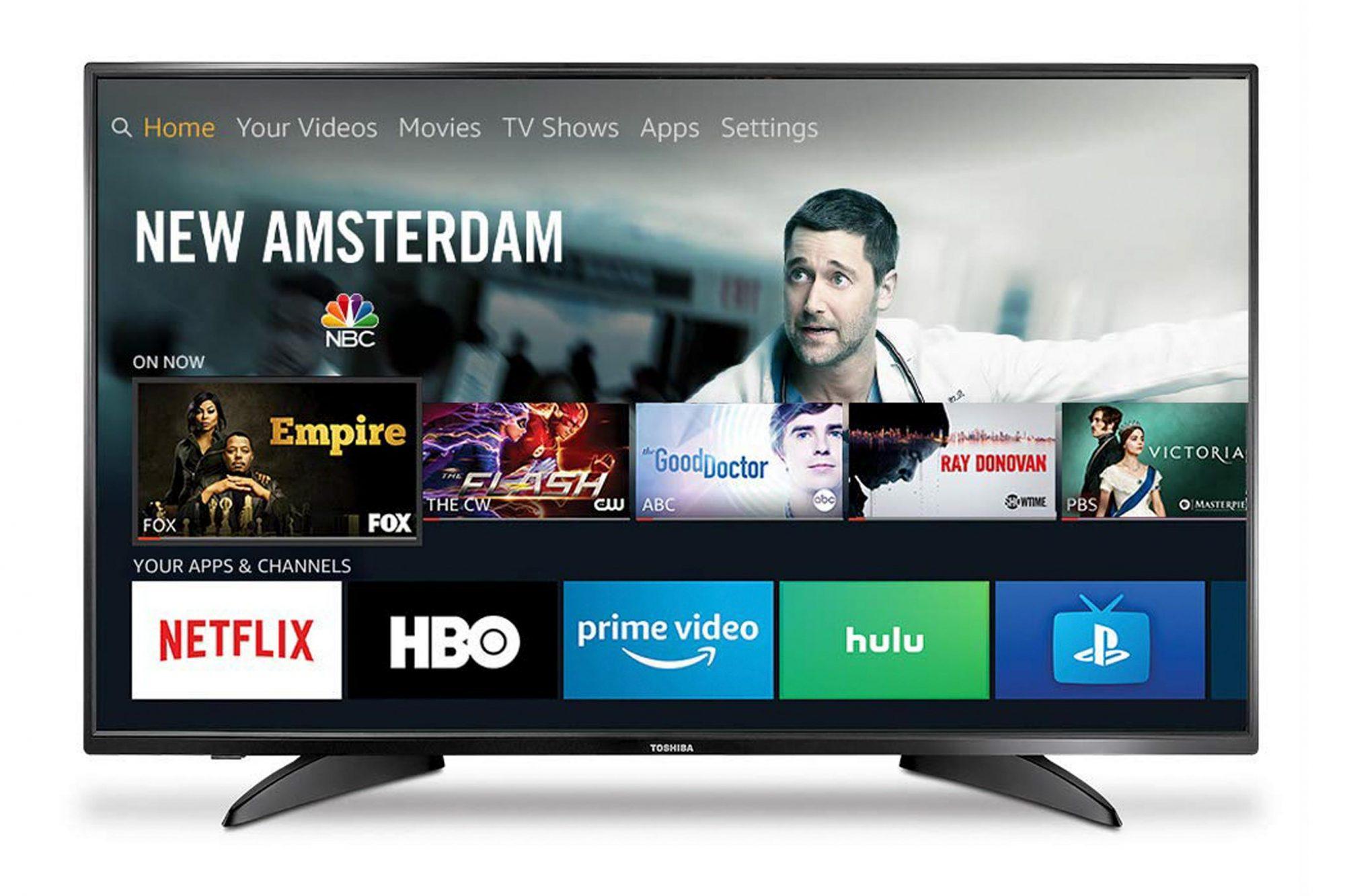 Toshiba 43LF421U19 43-inch 1080p Full HD Smart LED TV - Fire TV Edition CR: Amazon Prime Day 2019
