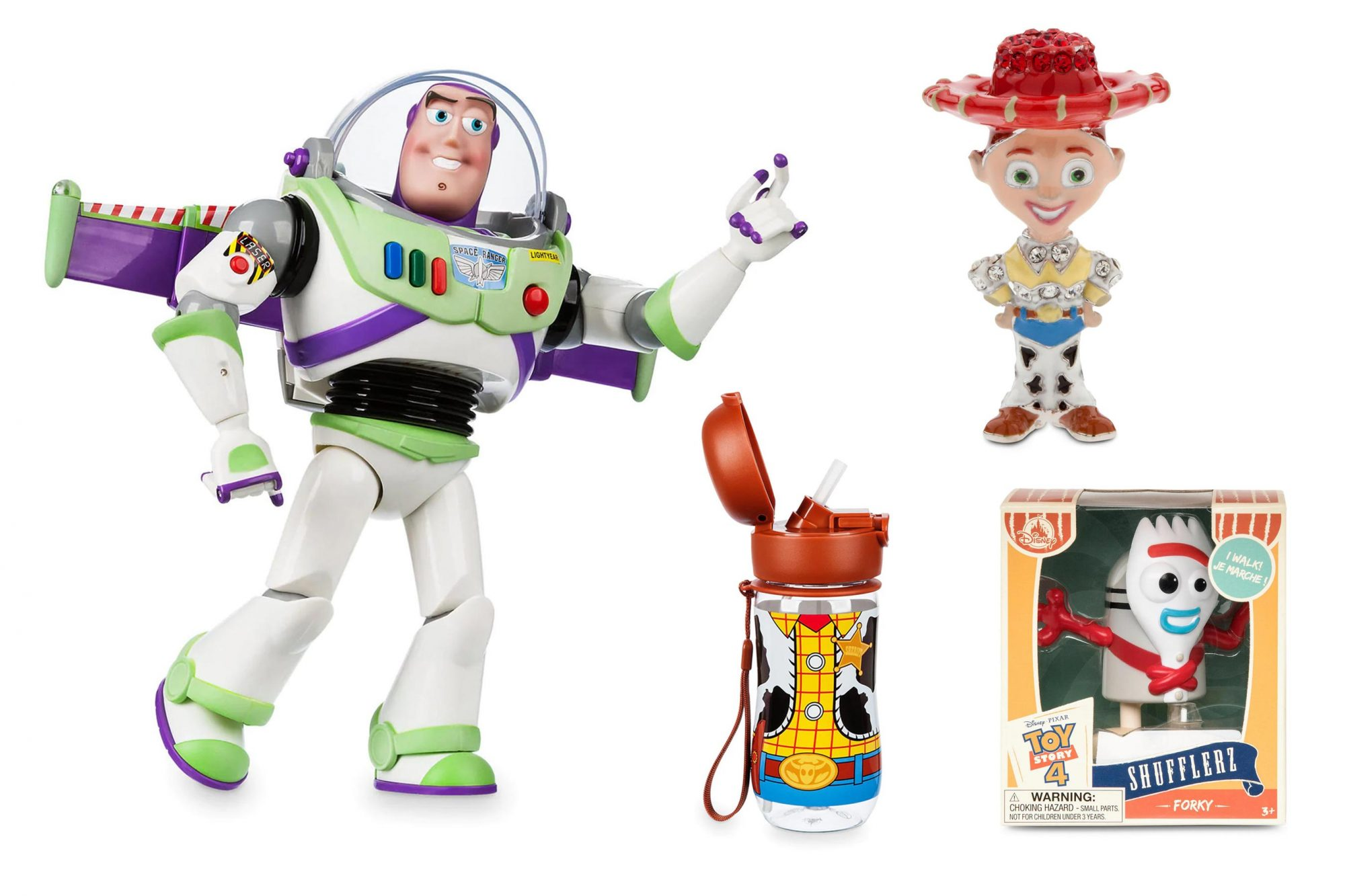 Toy Story toys and accessories