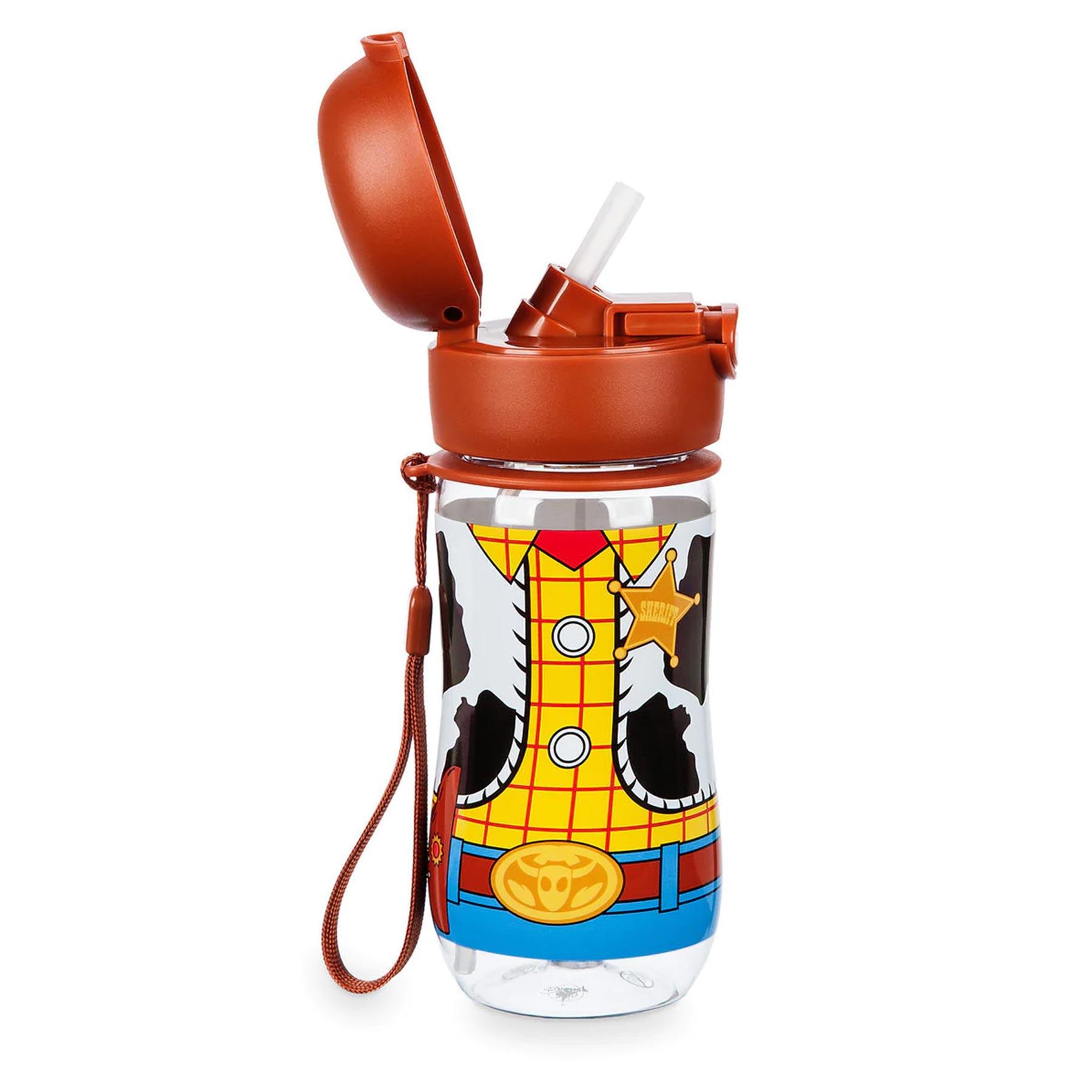 Woody Flip-Top Water Bottle