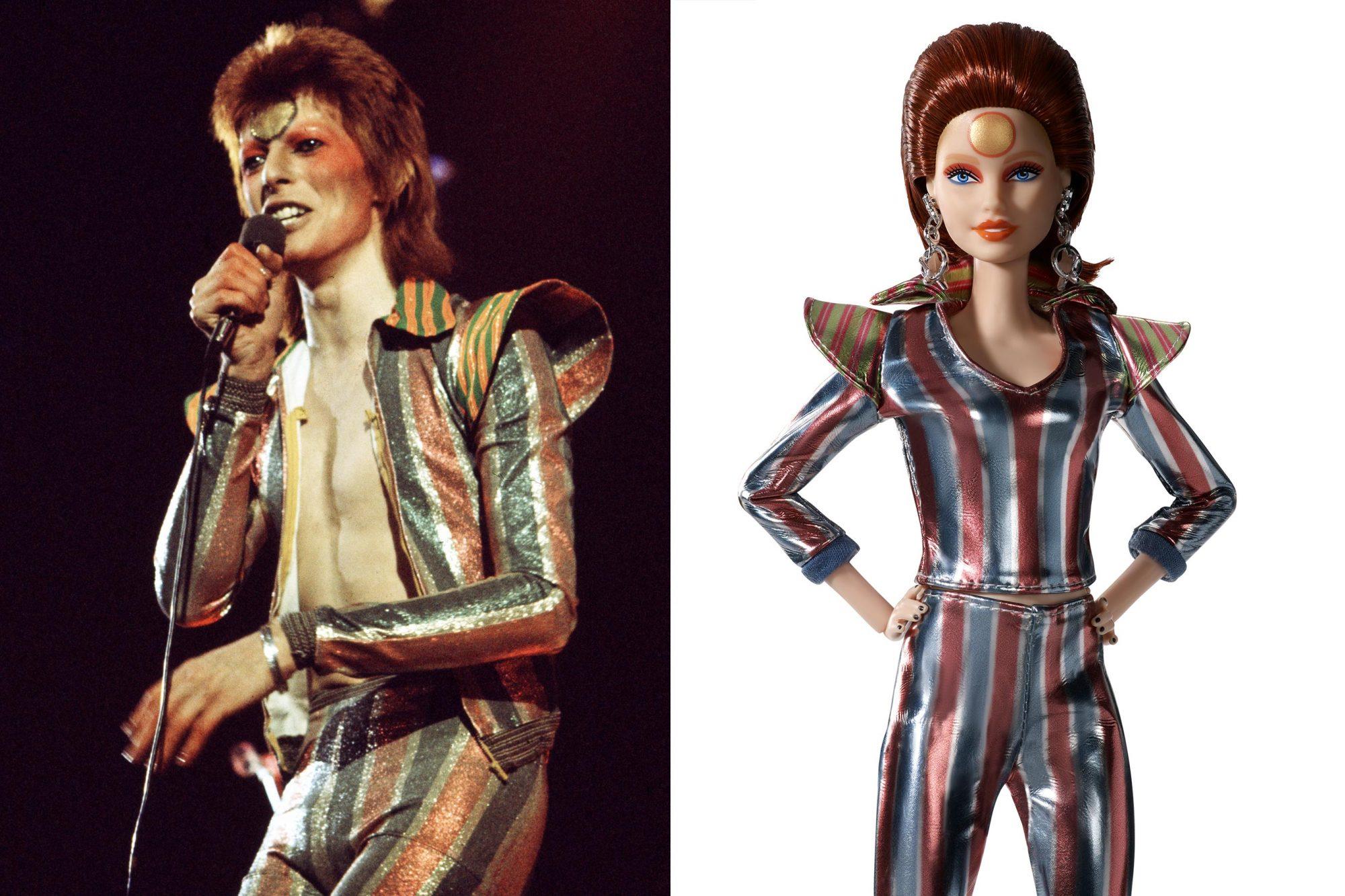 Ziggy Stardust Barbie
