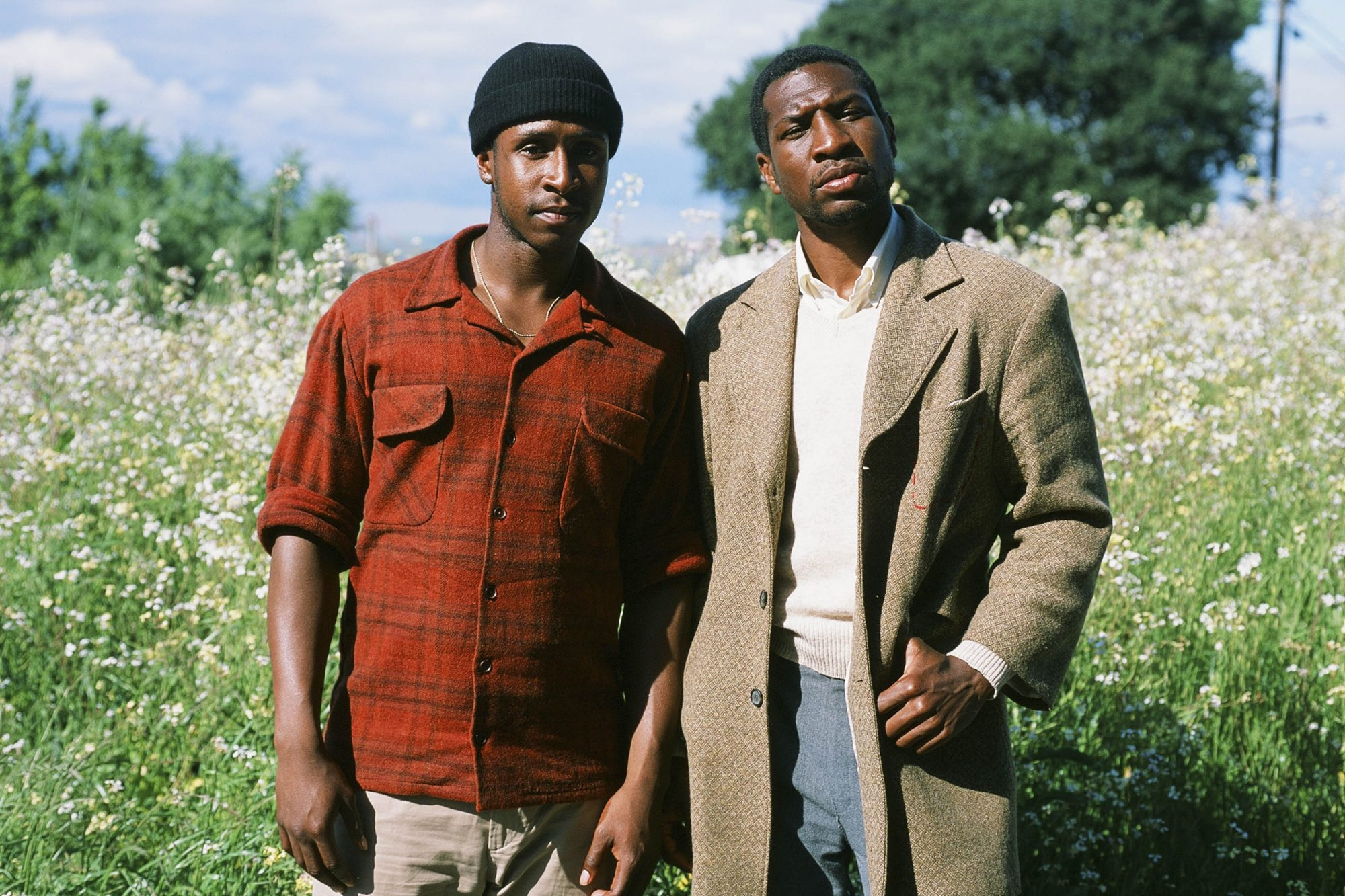 The Last Black Man in San Francisco (L to R) Jimmie Fails and Jonathan Majors