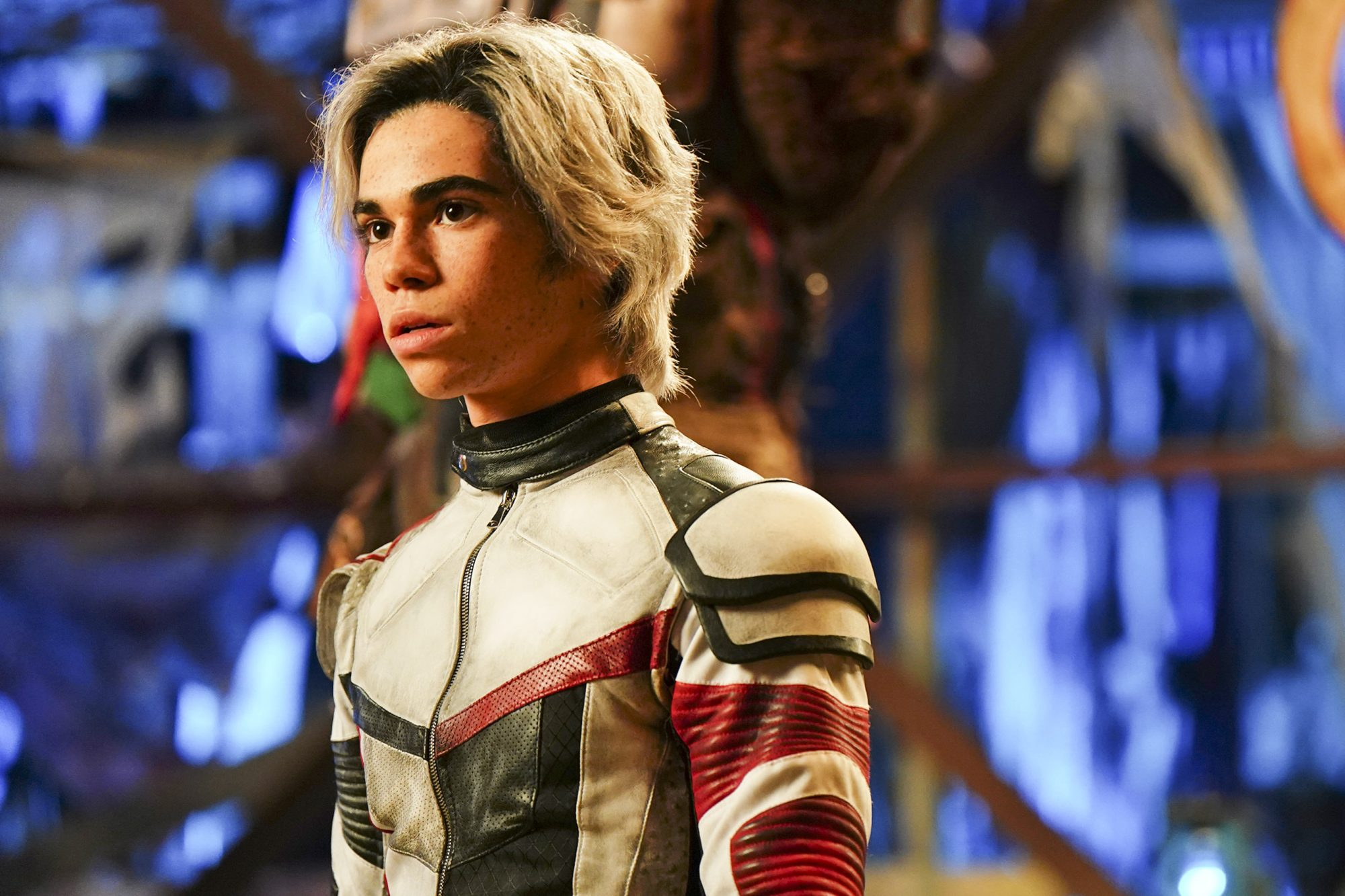 "DESCENDANTS 3 - In this highly anticipated trequel about the sons and daughters of Disney's most infamous villains, Mal and the villain kids (VKs) must save Auradon from an evil threat. ""Descendants 3"" will debut summer 2019 on Disney Channel. (Disney Channel/David Bukach) CAMERON BOYCE"