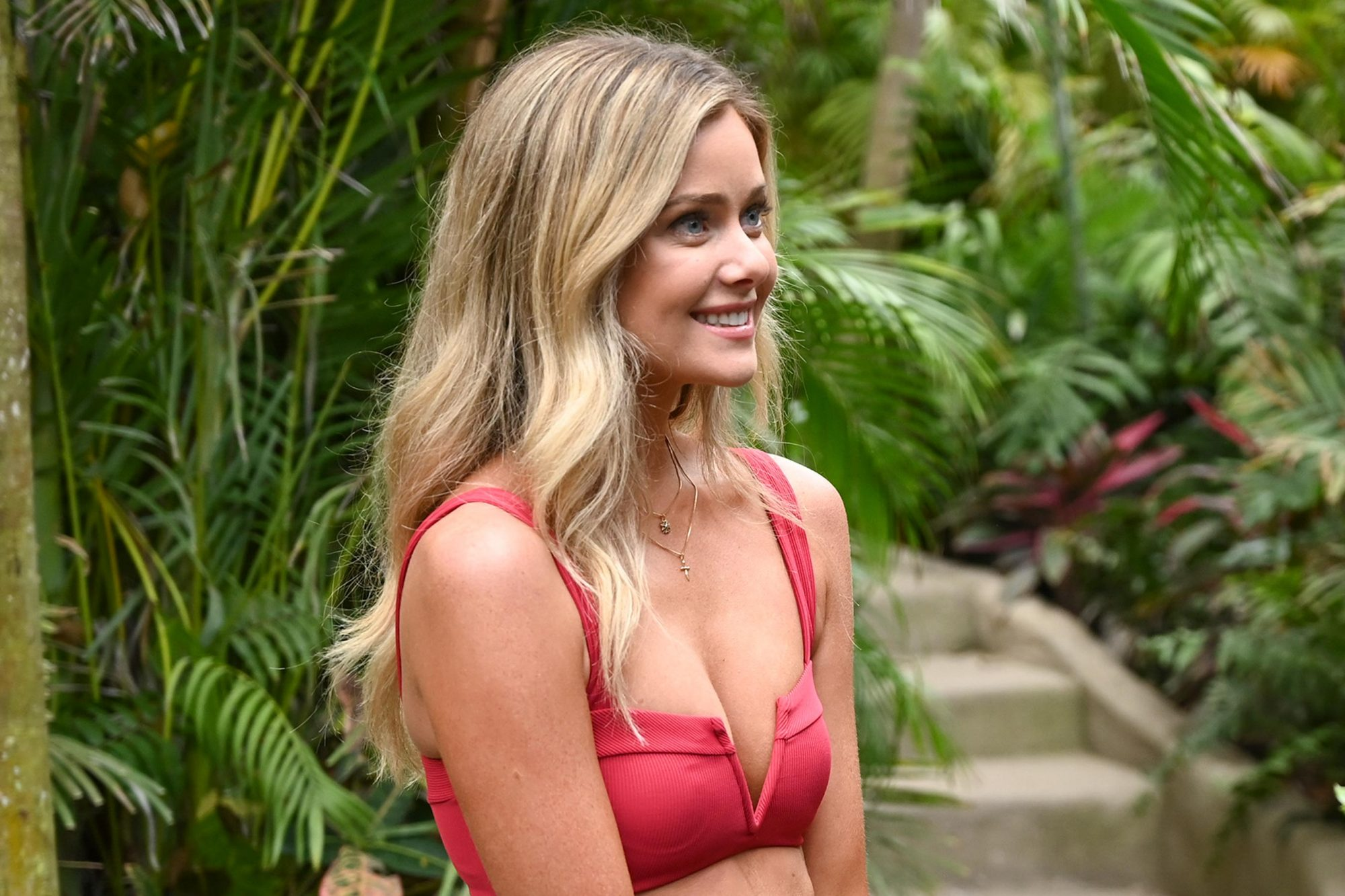 """BACHELOR IN PARADISE - """"601A"""" - In the premiere episode of what promises to be another wild ride of """"Bachelor in Paradise,"""" our favorite members of Bachelor Nation begin their journey for another chance at finding love at a luxurious Mexico resort, airing MONDAY, AUG. 5 (8:00-10:01 p.m. EDT), on ABC. (ABC/John Fleenor) HANNAH GODWIN"""