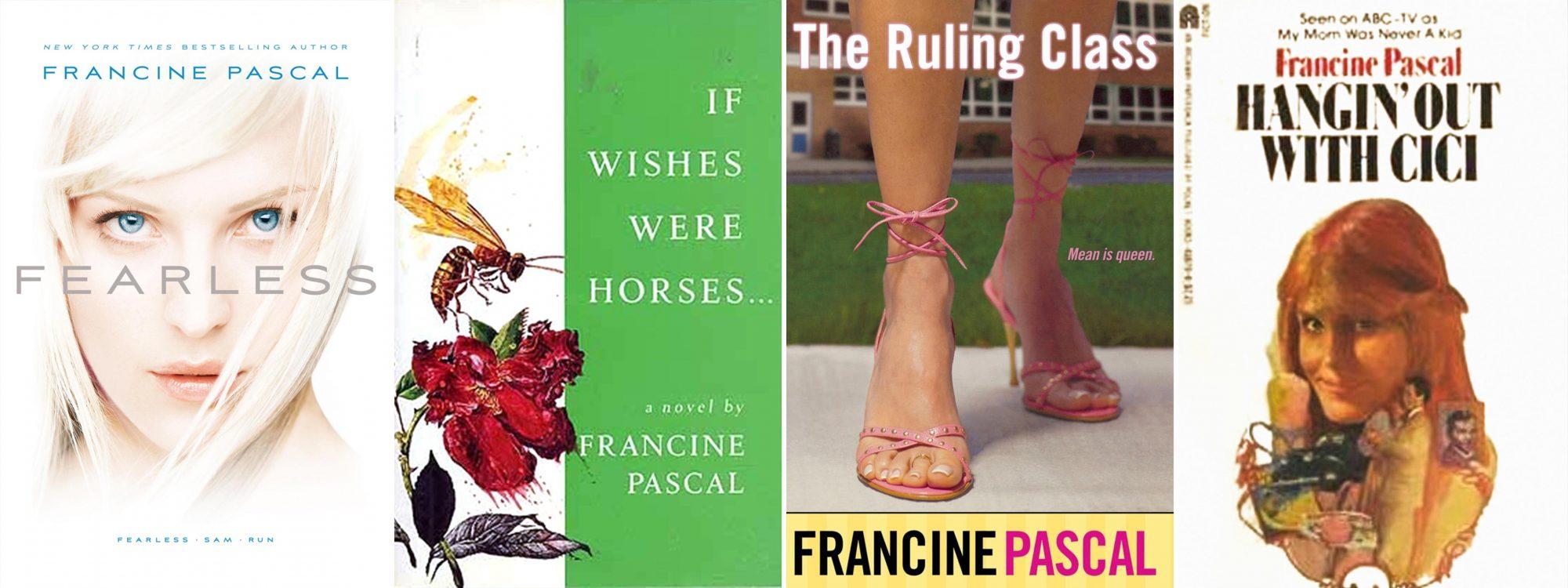 Francine Pascal novels