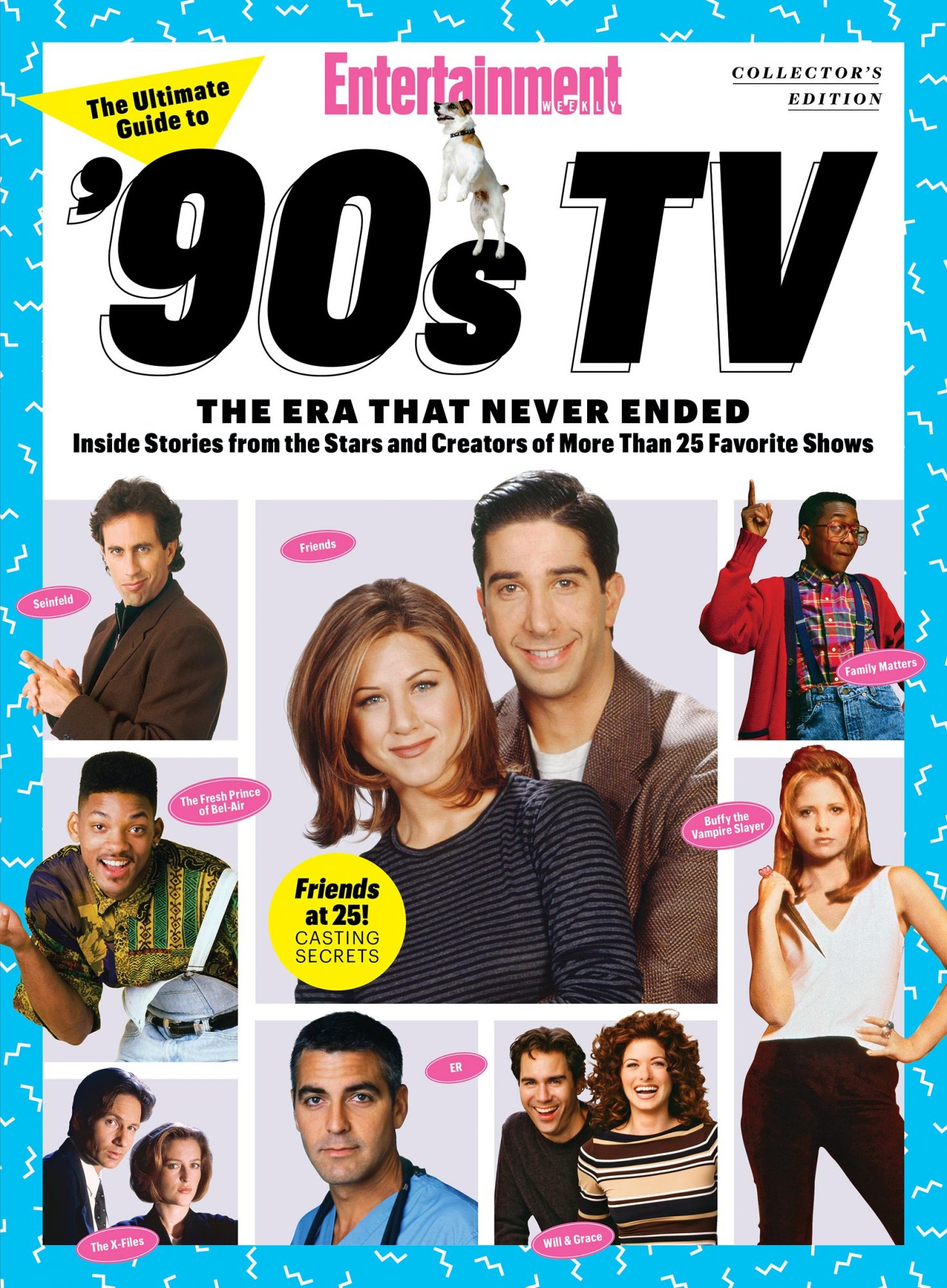 The Ultimate Guide to '90s TV: The Era That Never Ended Collector's Edition cover
