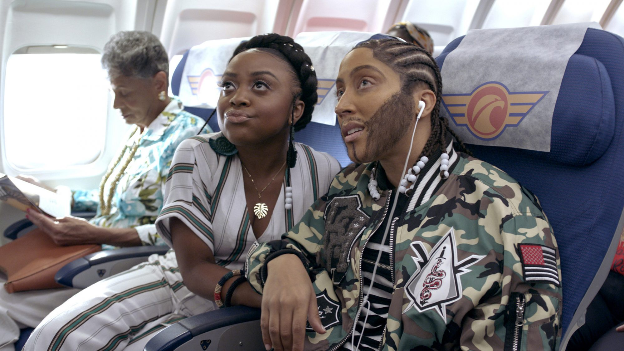 A Black Lady Sketch Show Episode 5: Quinta Brunson, Robin Thede. photo: Courtesy of HBO