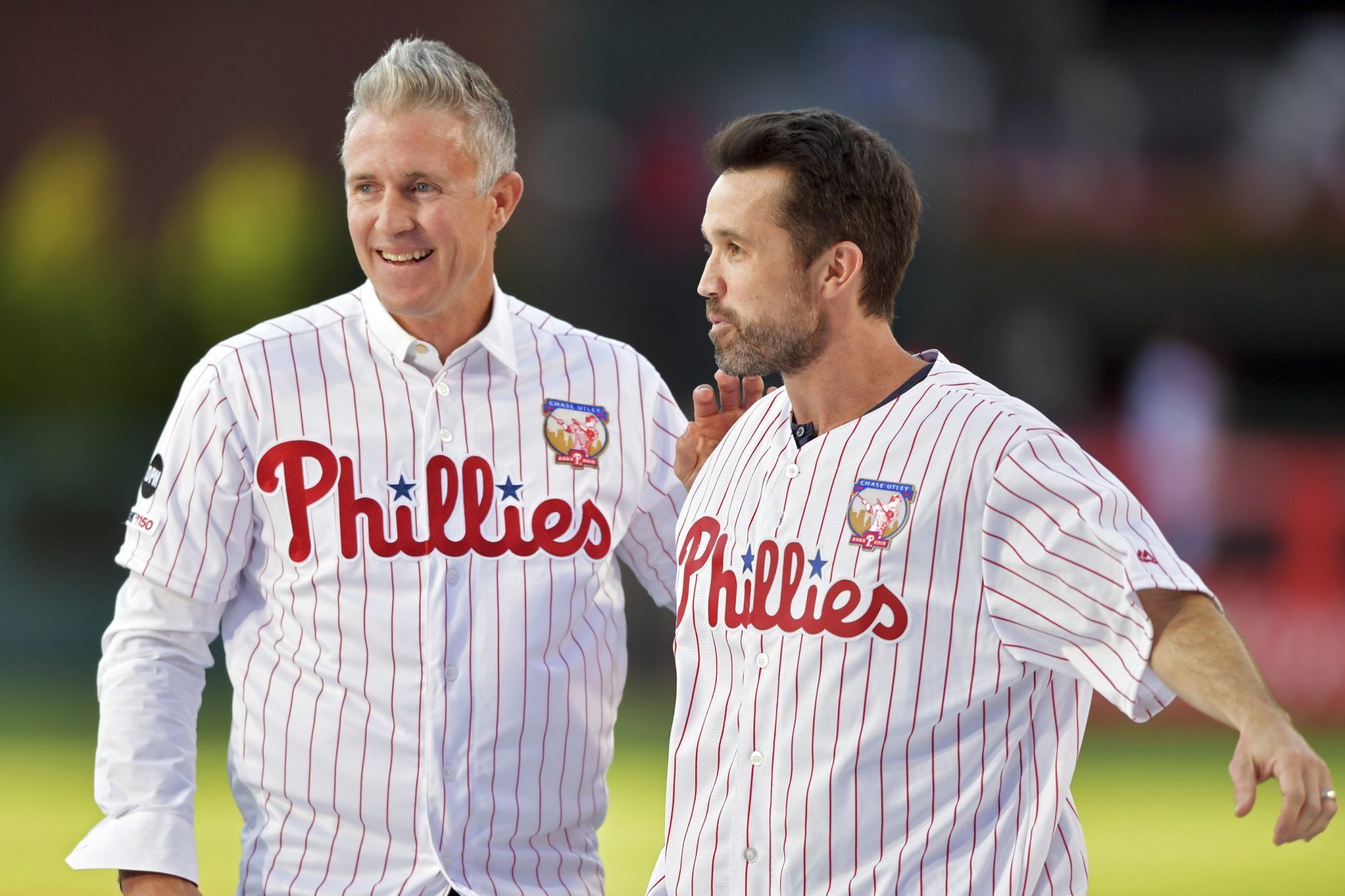 Chase Utley and Rob McElhenney