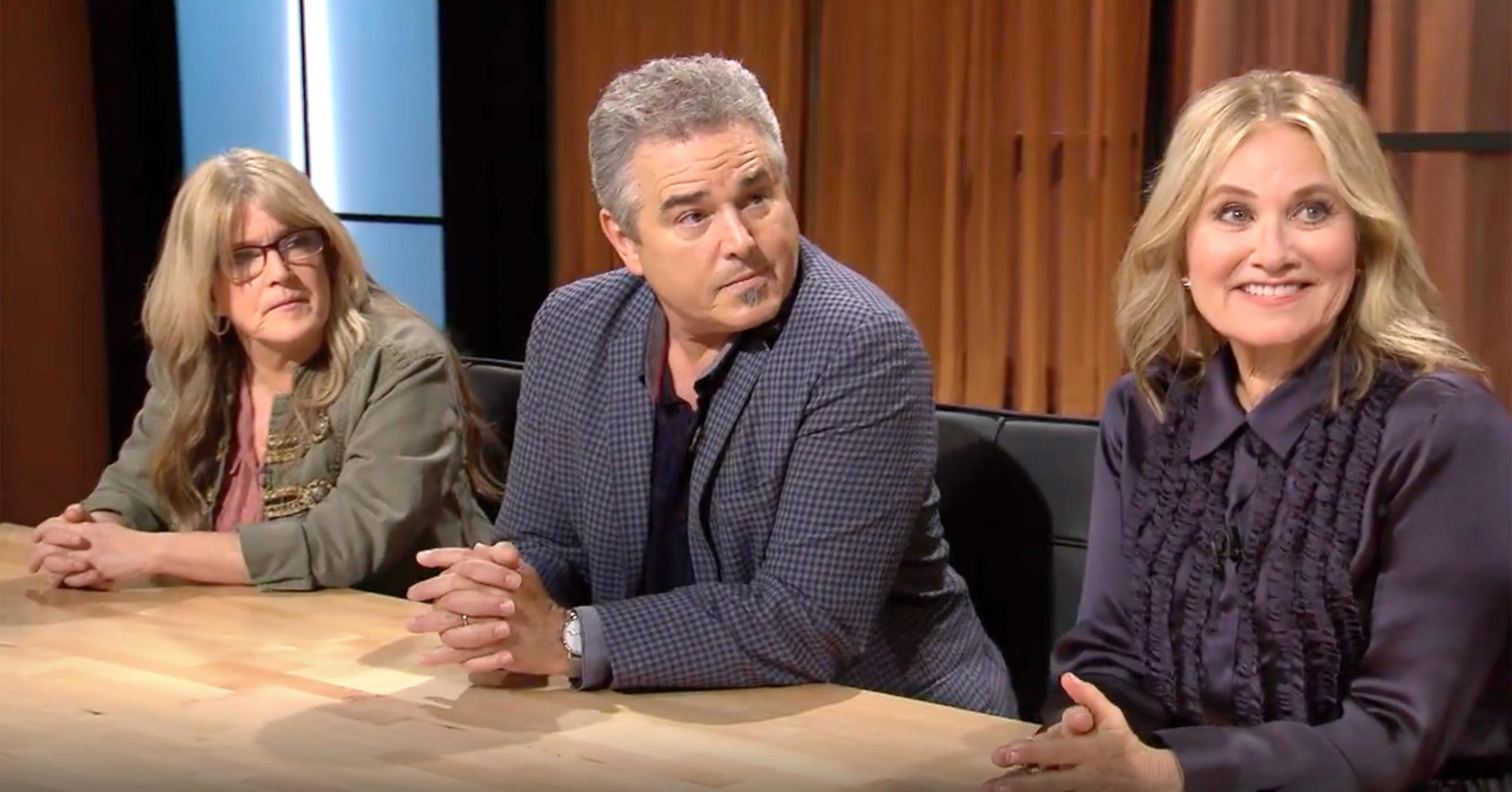Chopped (screen grab) Susan Olsen, Christopher Knight, Maureen McCormick CR: Food Network