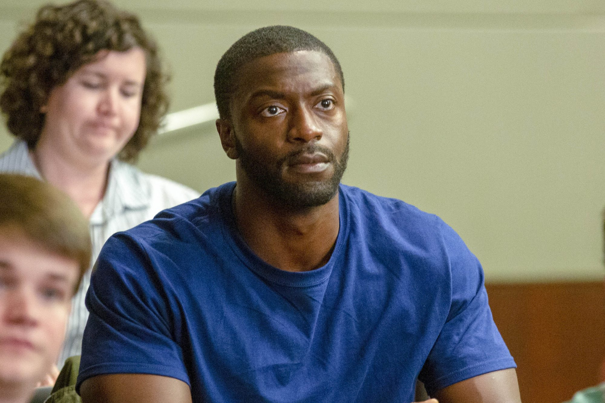 Aldis Hodge stars as Brian Banks in Tom Shadyac's BRIAN BANKS, a Bleecker Street release. Credit: Katherine Bomboy / Bleecker Street