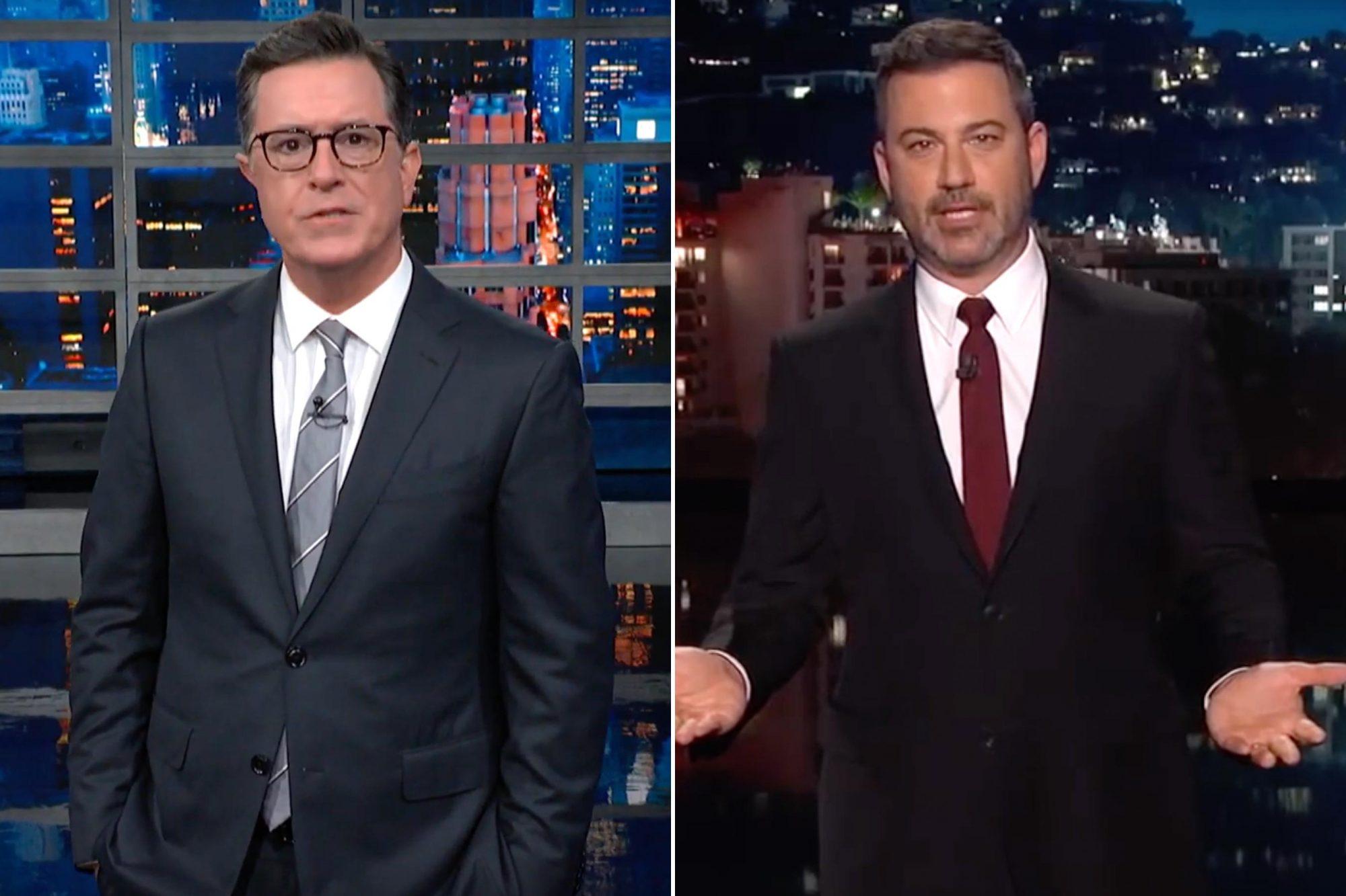 Stephen Colbert; Jimmy Kimmel