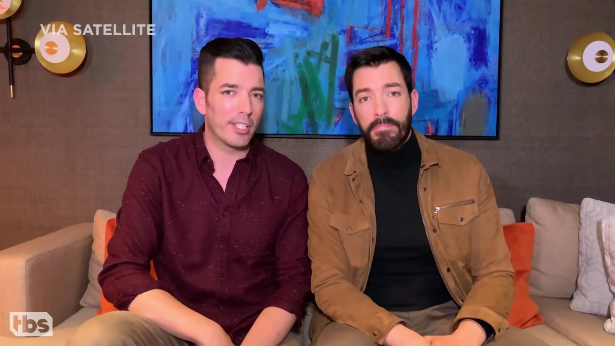 """The """"Property Brothers"""" Give Conan Advice About Buying Greenland"""