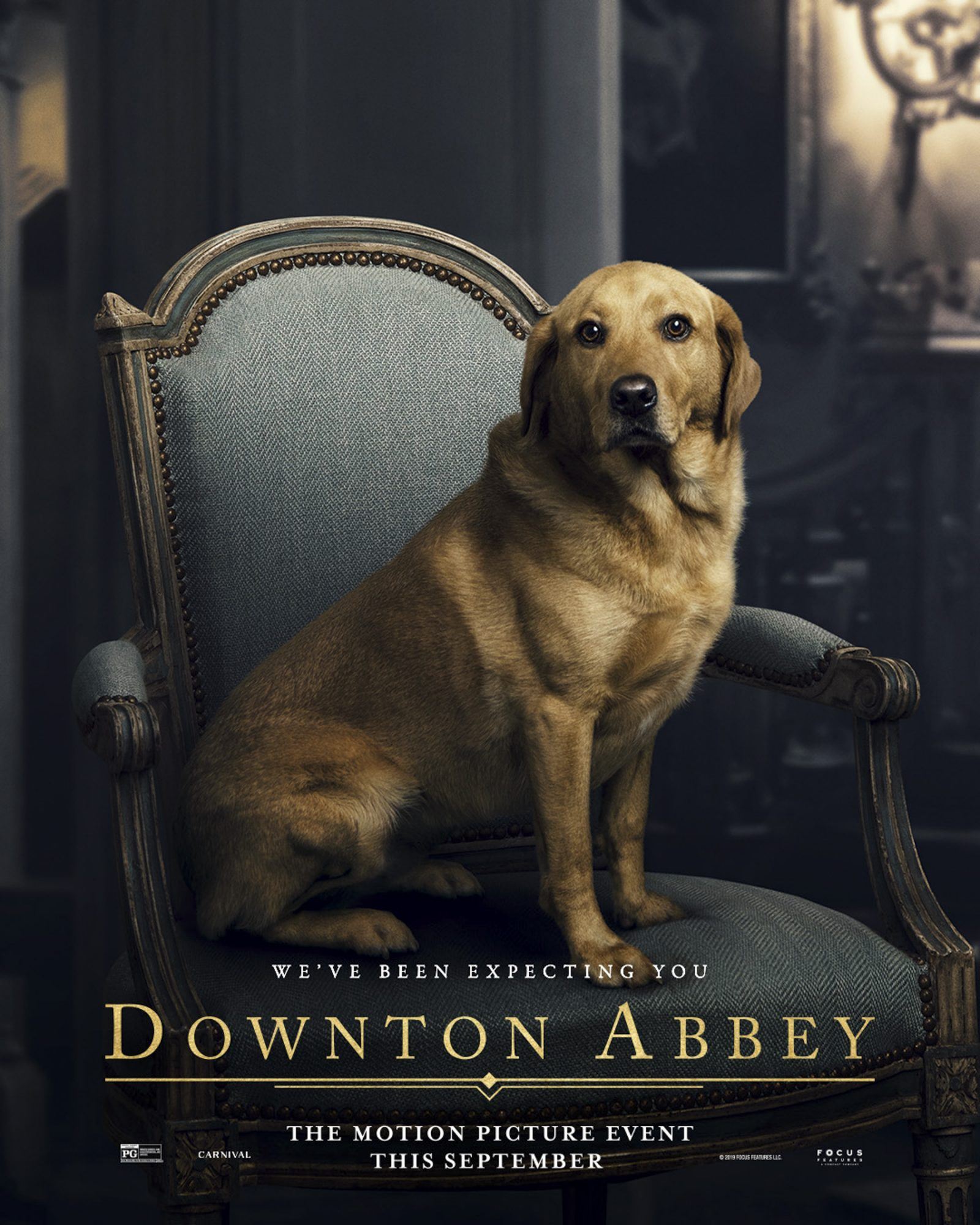 Downton Abbey movie poster CR: Focus Features