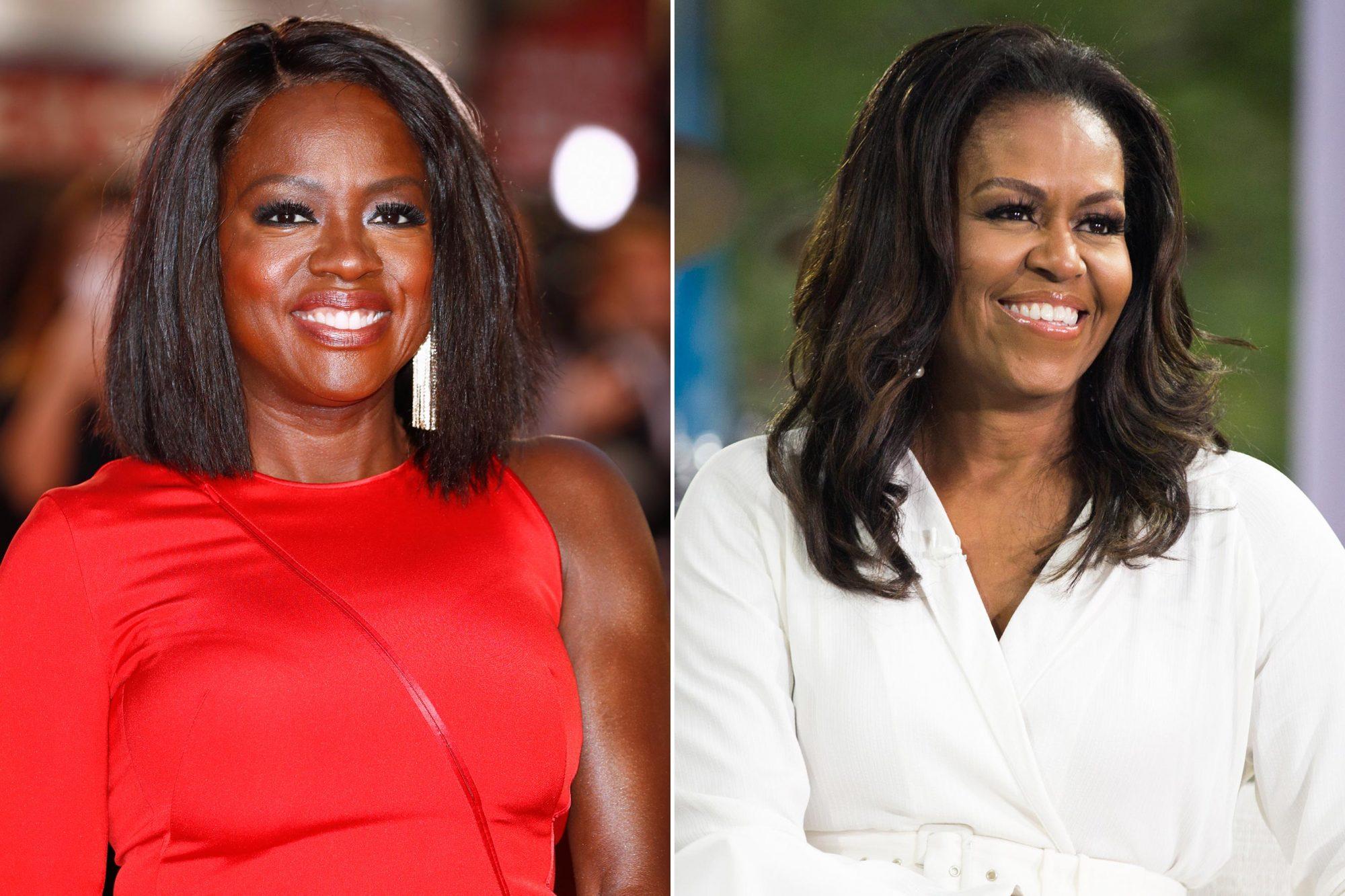 Viola Davis; Michelle Obama