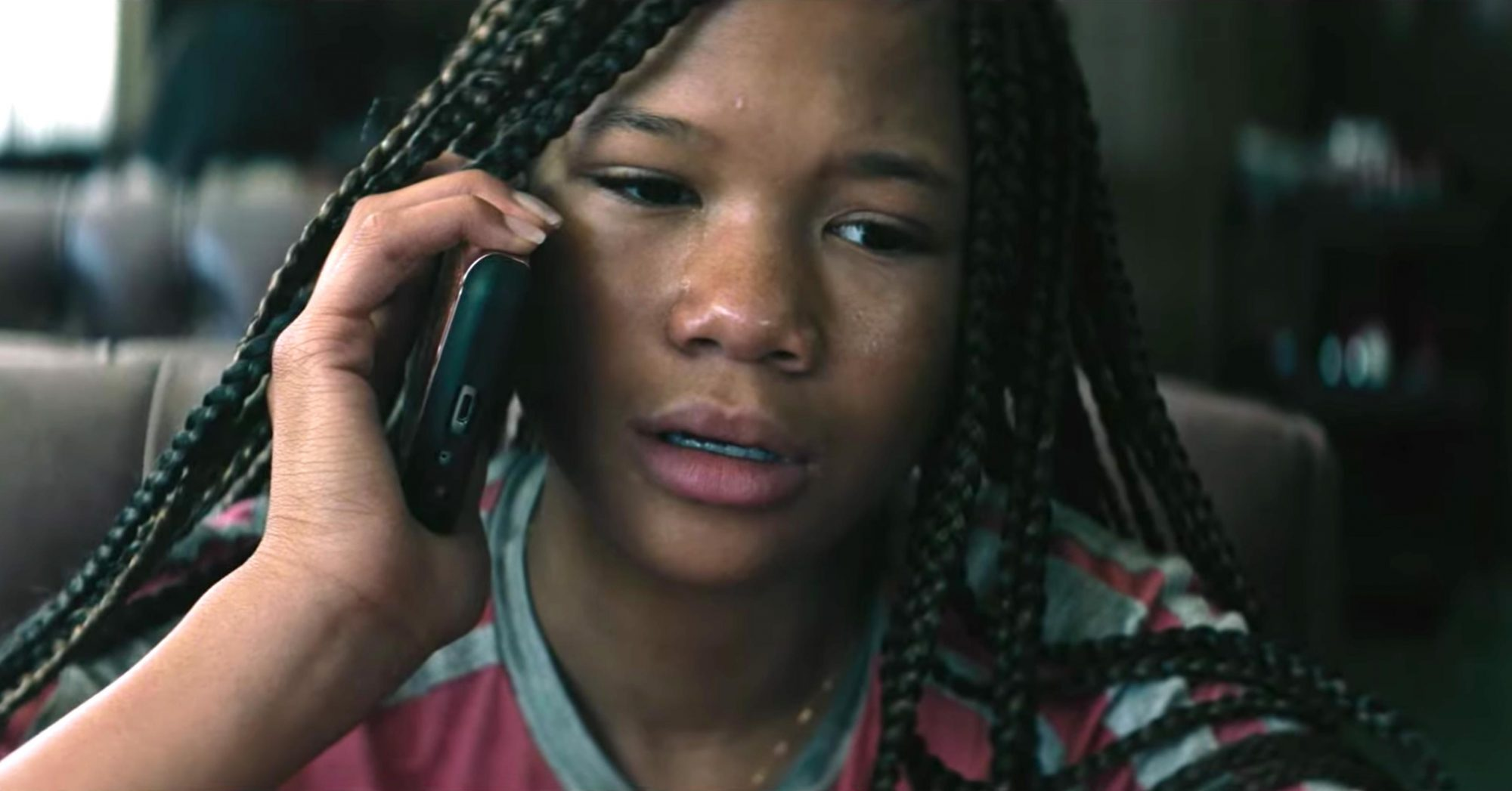 Don't Let Go - Official Trailer (2019) (screen grab) Storm Reid https://www.youtube.com/watch?v=RB-_oNDH0d8 CR: Blumhouse Productions