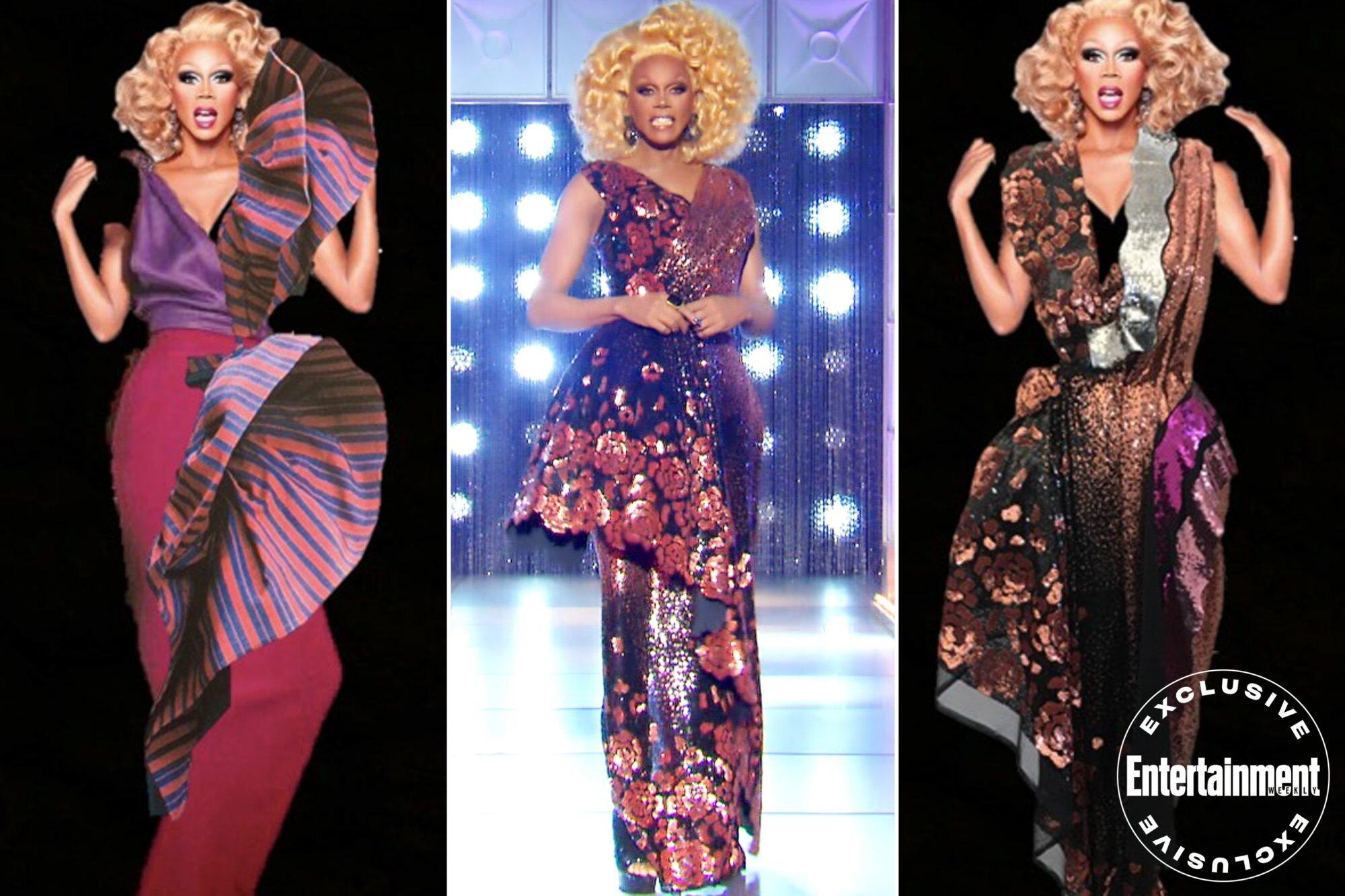 Rupaul S Drag Race Costume Design On Making Rupaul S Dresses Ew Com