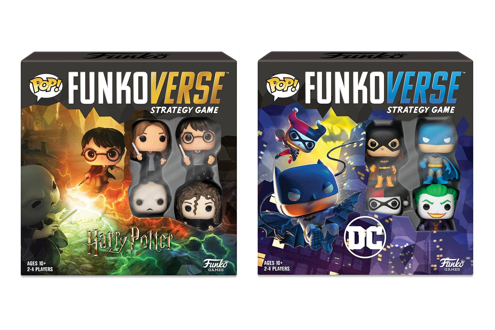 Funko Pop! - Funkoverse Strategy Game: Harry Potter #100 - Base Set Funko Pop! - Funkoverse Strategy Game: DC #100 - Base Set