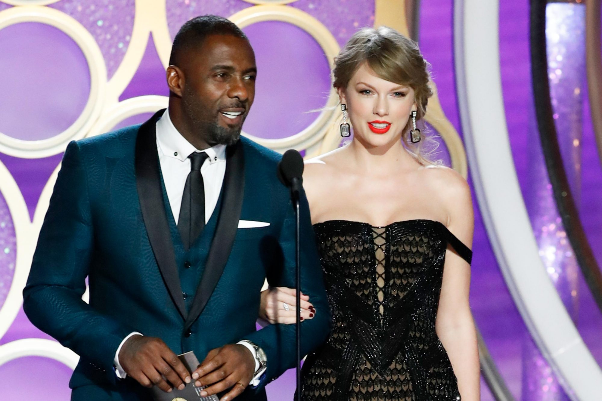 Idris Elba and Taylor Swift