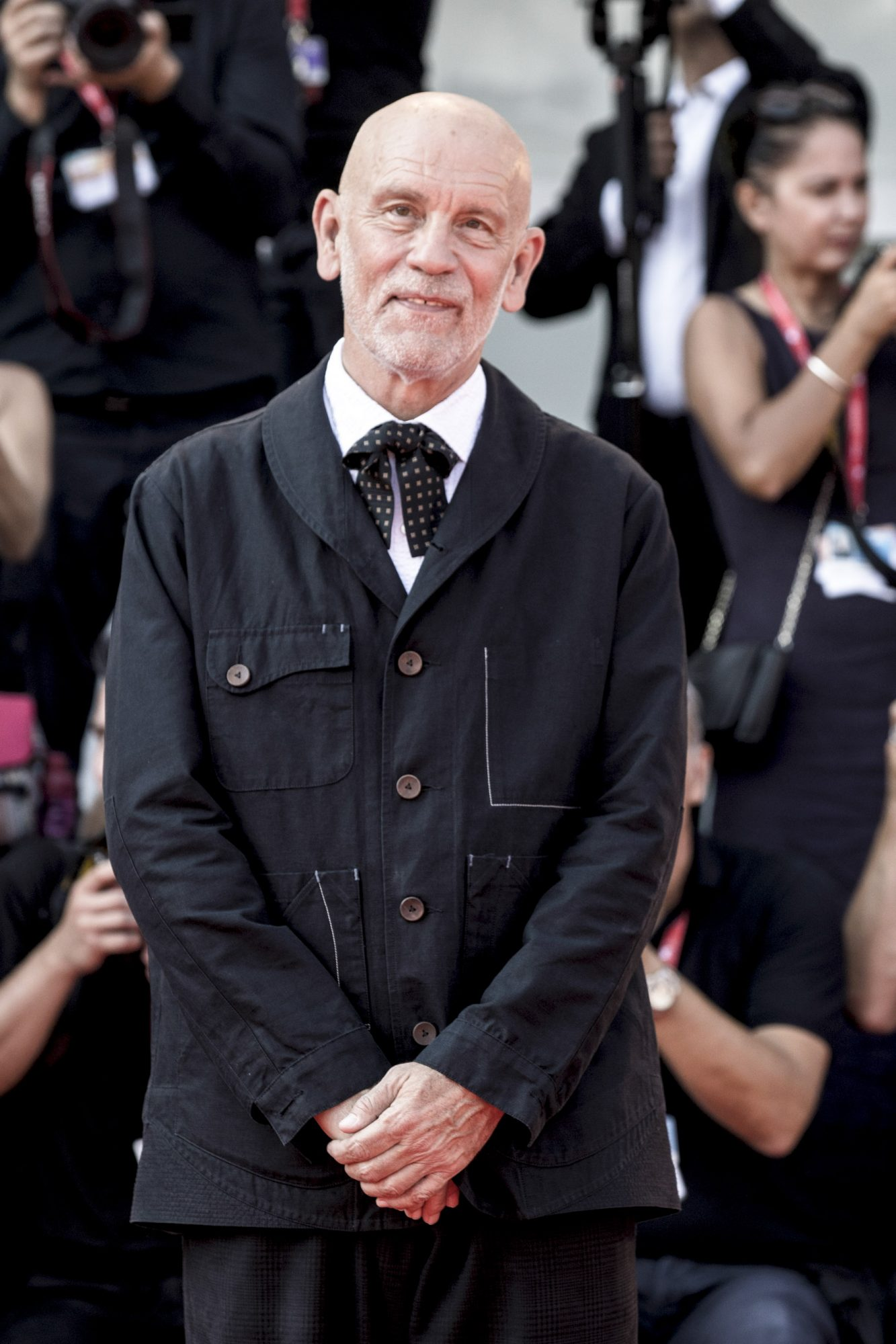 VENICE, ITALY - SEPTEMBER 01: John Malkovich attends the Campari award ceremony to Luca Bigazzi during the 76th Venice Film Festival at Sala Grande on September 01, 2019 in Venice, Italy. (Photo by Alessandra Benedetti - Corbis/Corbis via Getty Images)