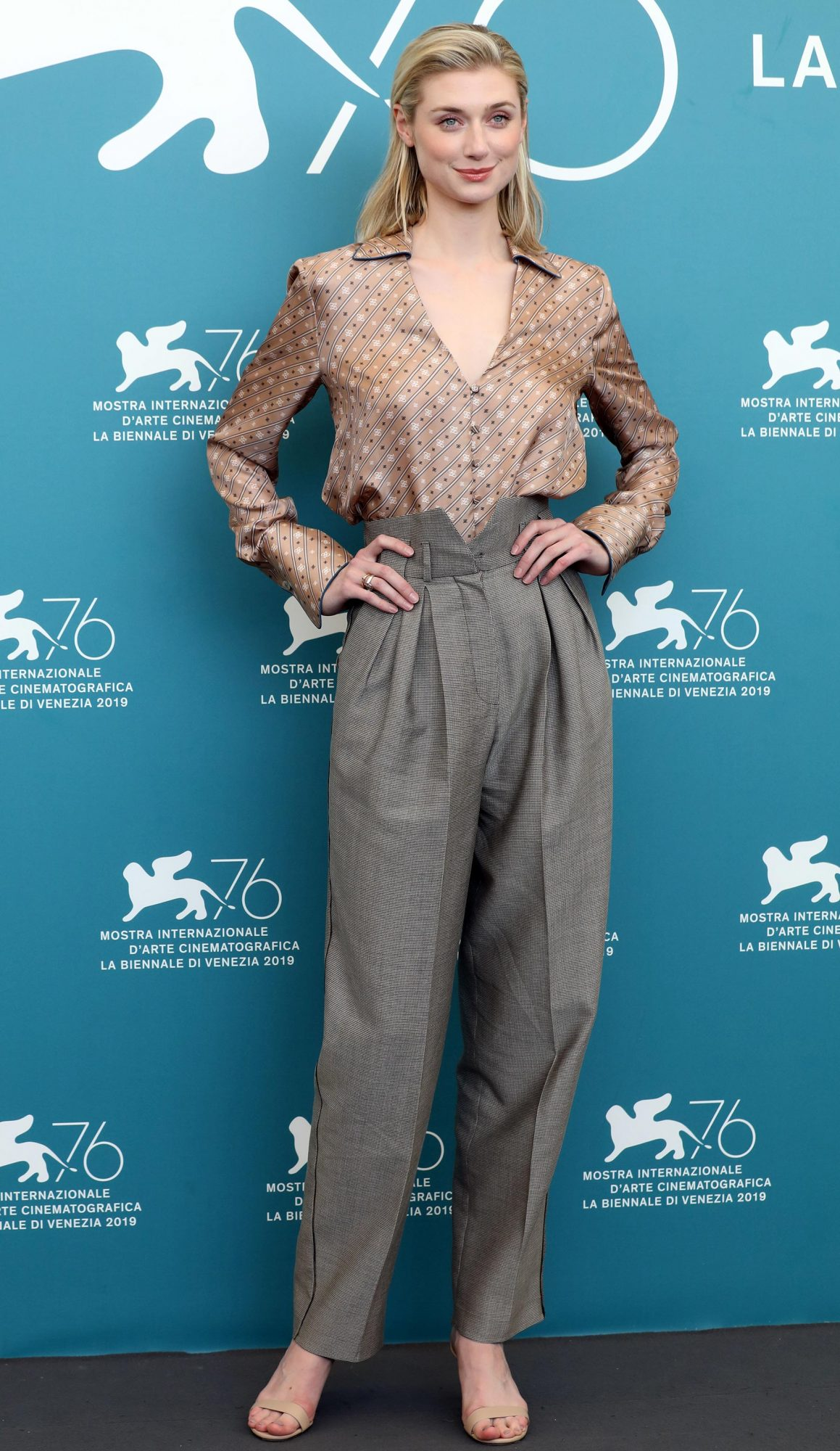 """The Burnt Orange Heresy"" Photocall - 76th Venice Film Festival - The 76th Venice Film Festival"