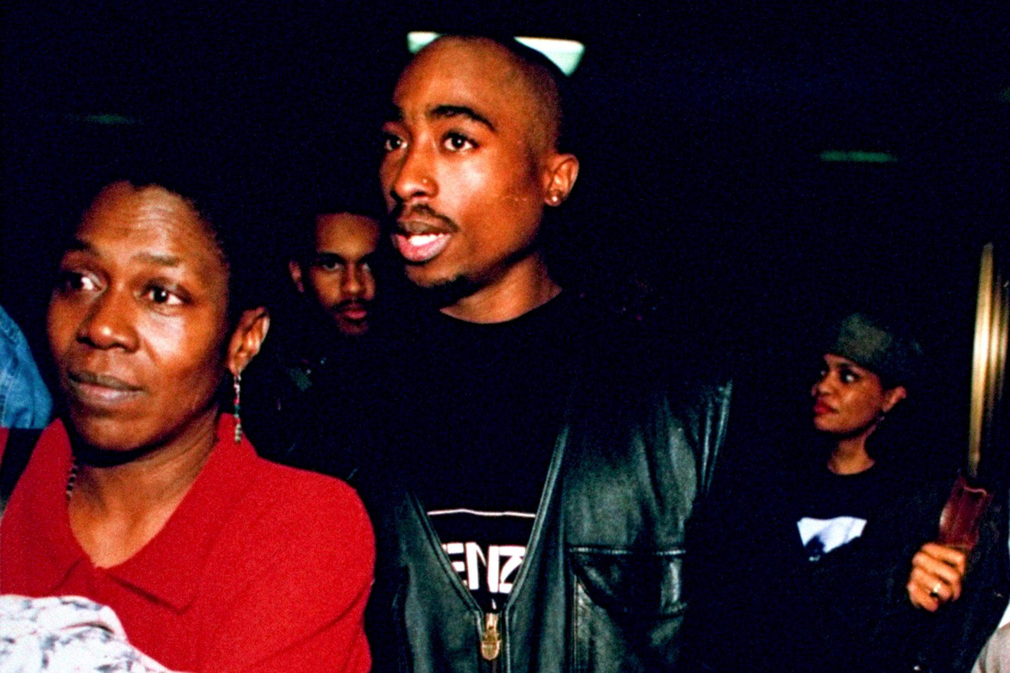 Afeni Shakur;Tupac Shakur