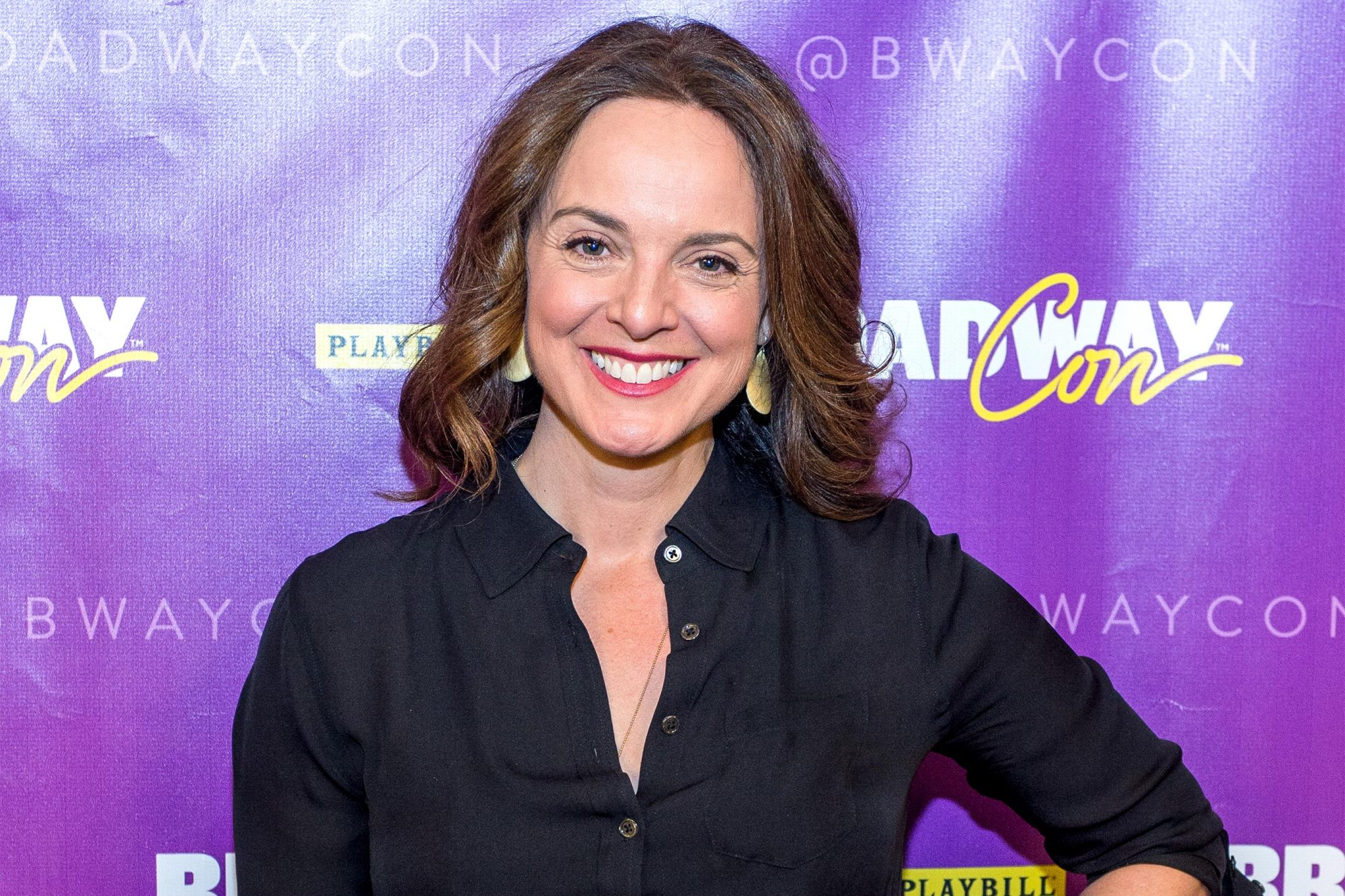 NEW YORK, NY - JANUARY 22: Actress Melissa Errico attends BroadwayCon 2016 at New York Hilton Midtown on January 22, 2016 in New York City. (Photo by Roy Rochlin/Getty Images)