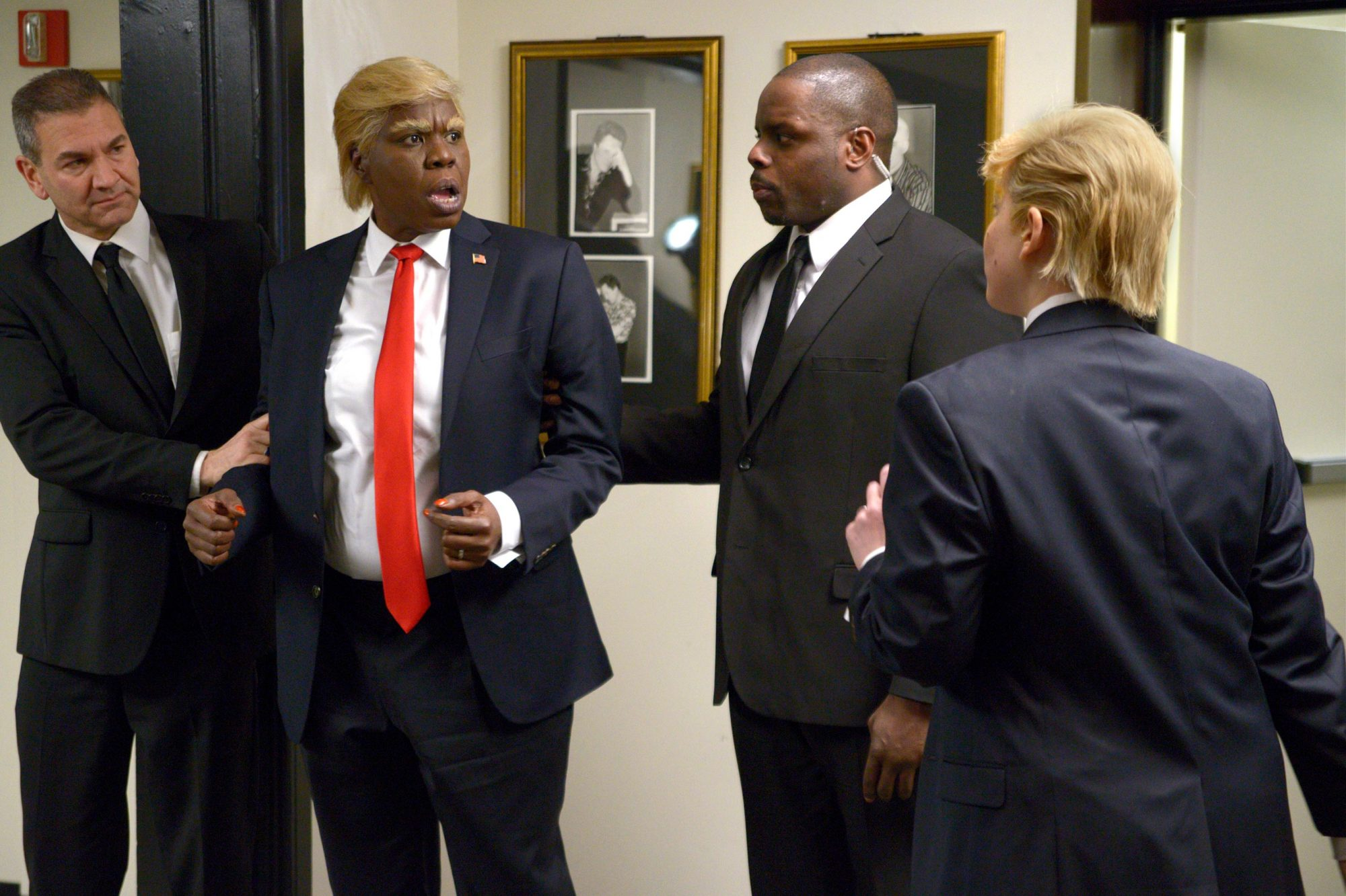 SATURDAY NIGHT LIVE Leslie Jones as Donald Trump