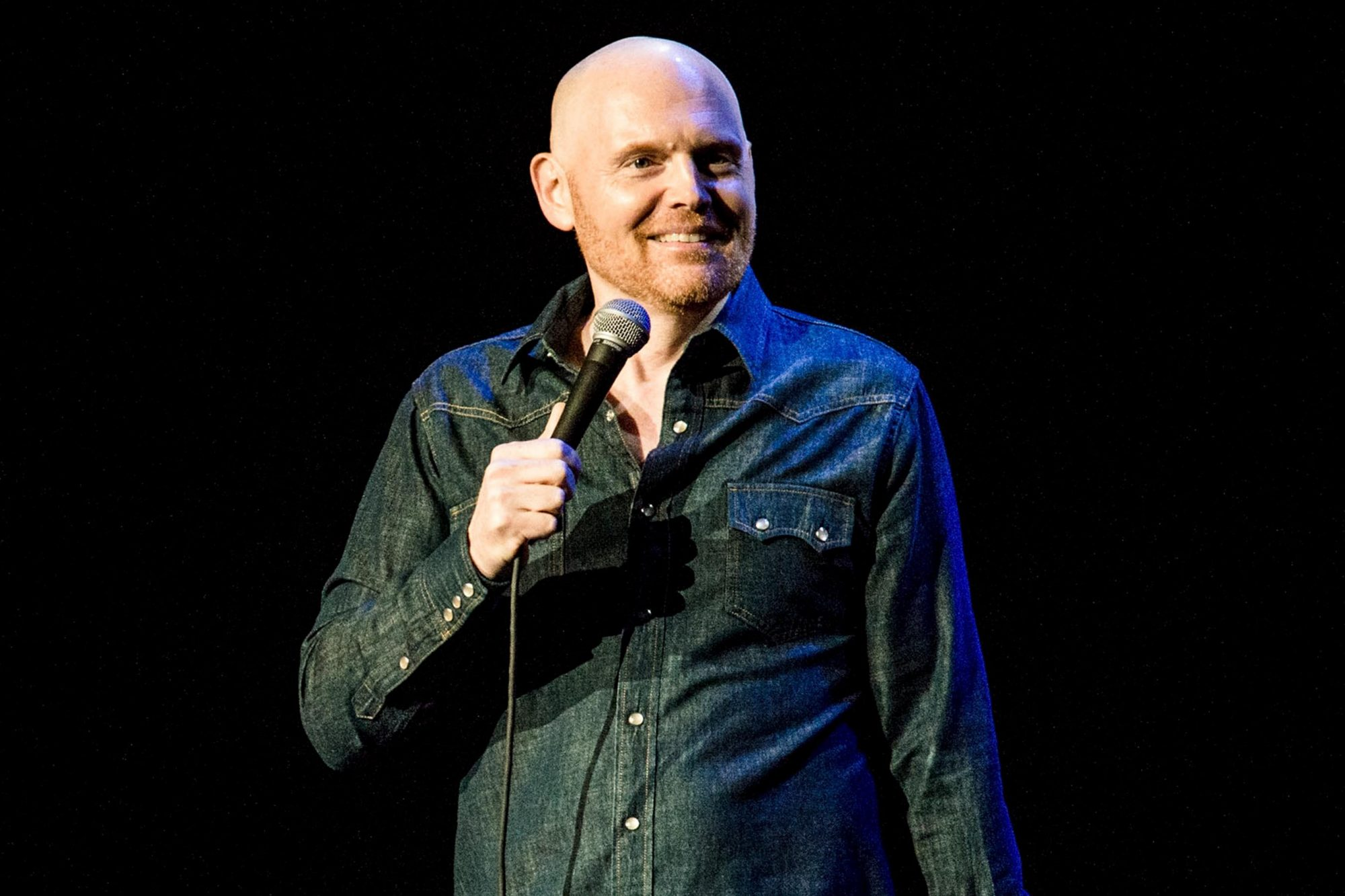 LOS ANGELES, CA - APRIL 01: Bill Burr performs during KROQ Presents Kevin & Bean's April Foolishness 2017 at The Shrine Auditorium on April 1, 2017 in Los Angeles, California. (Photo by Timothy Norris/Getty Images)