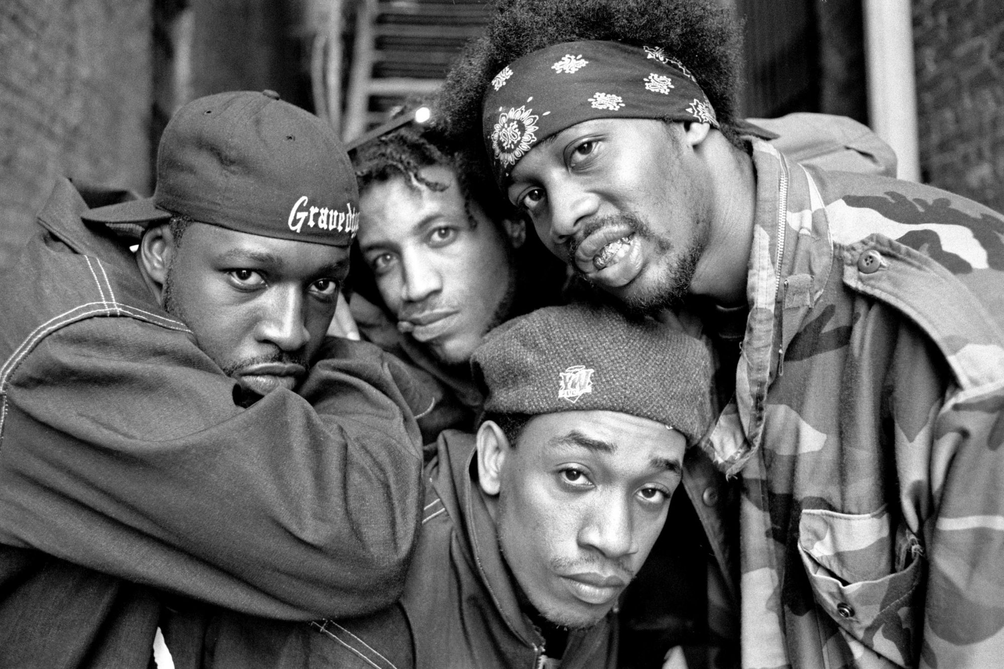 UNITED STATES - MAY 14: Photo of GRAVEDIGGAZ; Gravediggaz in NYC 14 May 1994 (Photo by David Corio/Redferns)