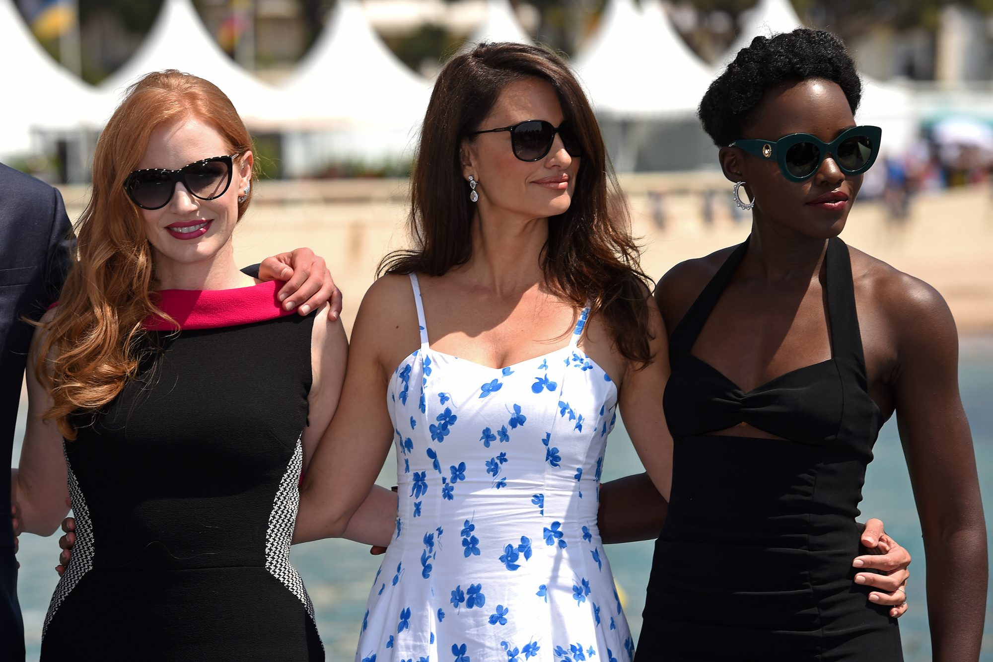 Jessica Chastain, Penelope Cruz and Lupita Nyong'o