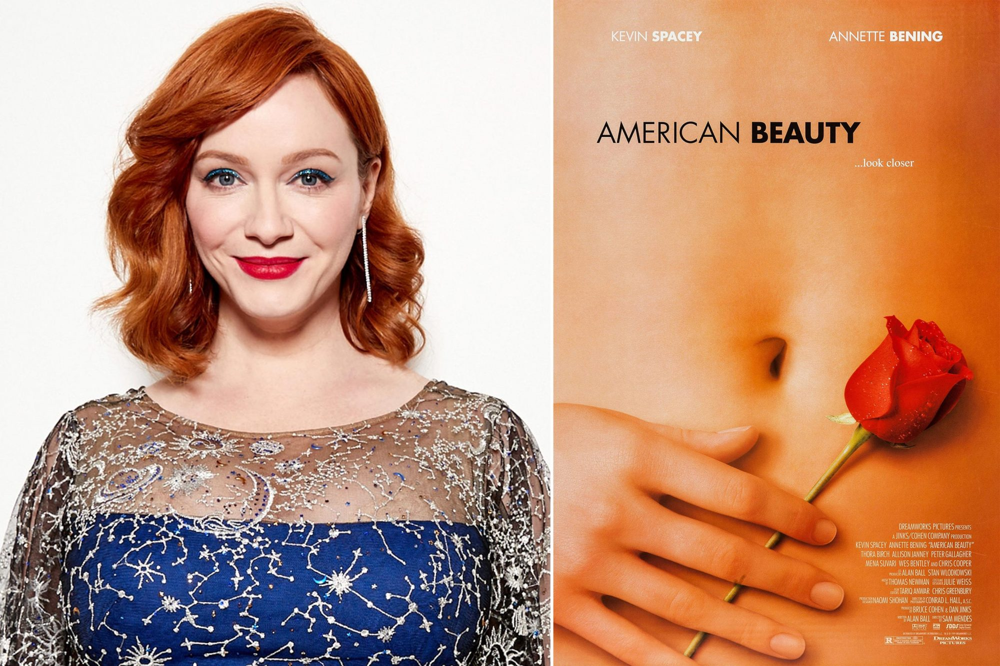Christina Hendricks; AMERICAN BEAUTY