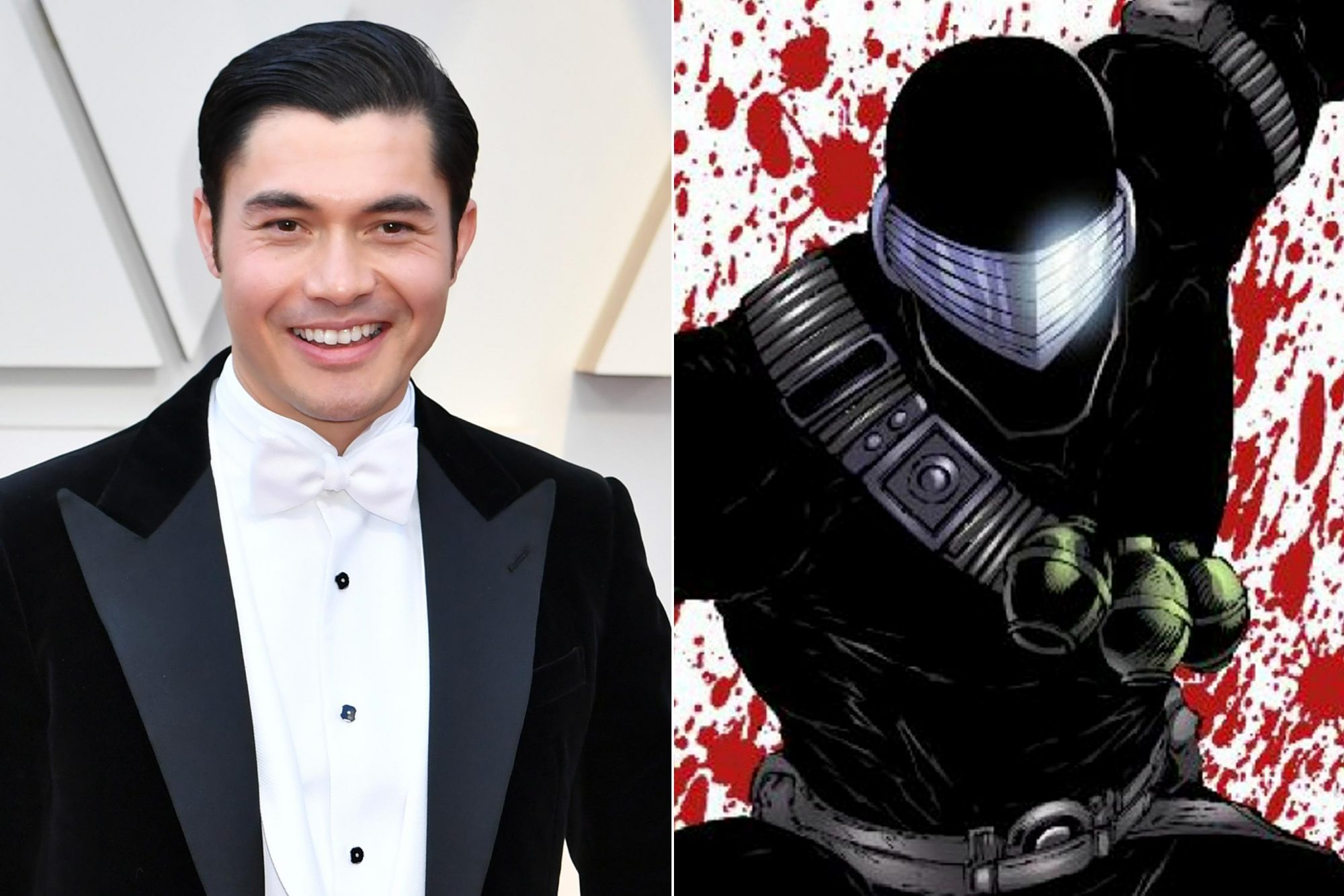 HOLLYWOOD, CA - FEBRUARY 24: Henry Golding attends the 91st Annual Academy Awards at Hollywood and Highland on February 24, 2019 in Hollywood, California. (Photo by Jeff Kravitz/FilmMagic) G.I. Joe comic cover Snake Eyes CR: IDW
