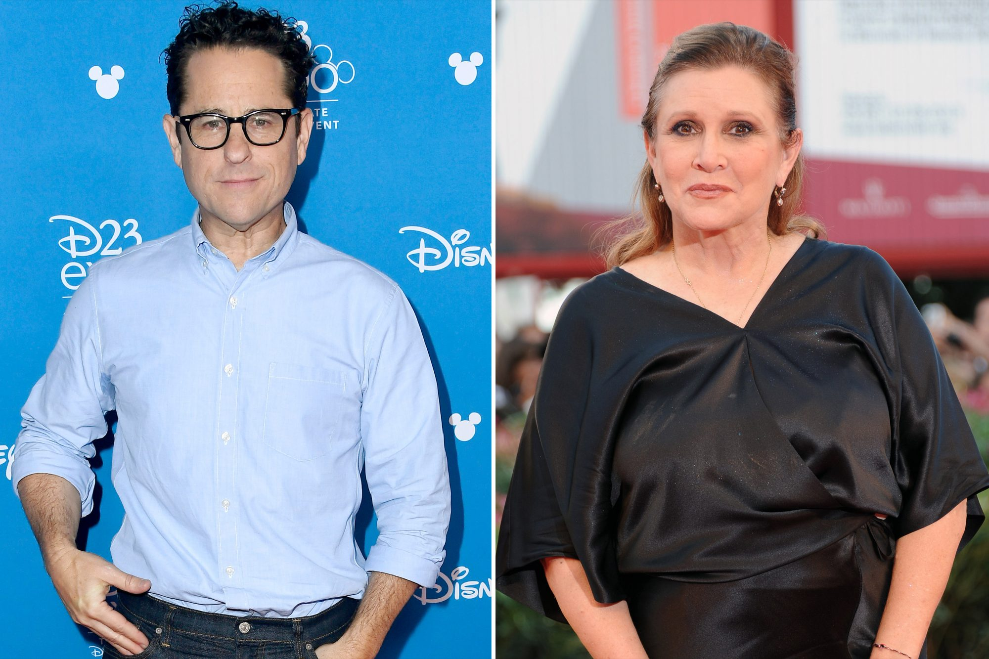JJ abrams and Carey Fisher