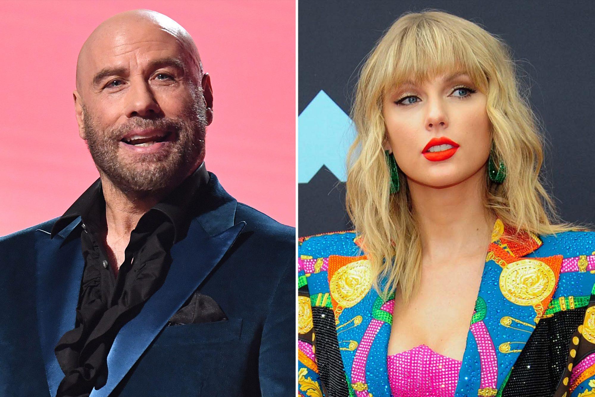 John Travolta, Taylor Swift