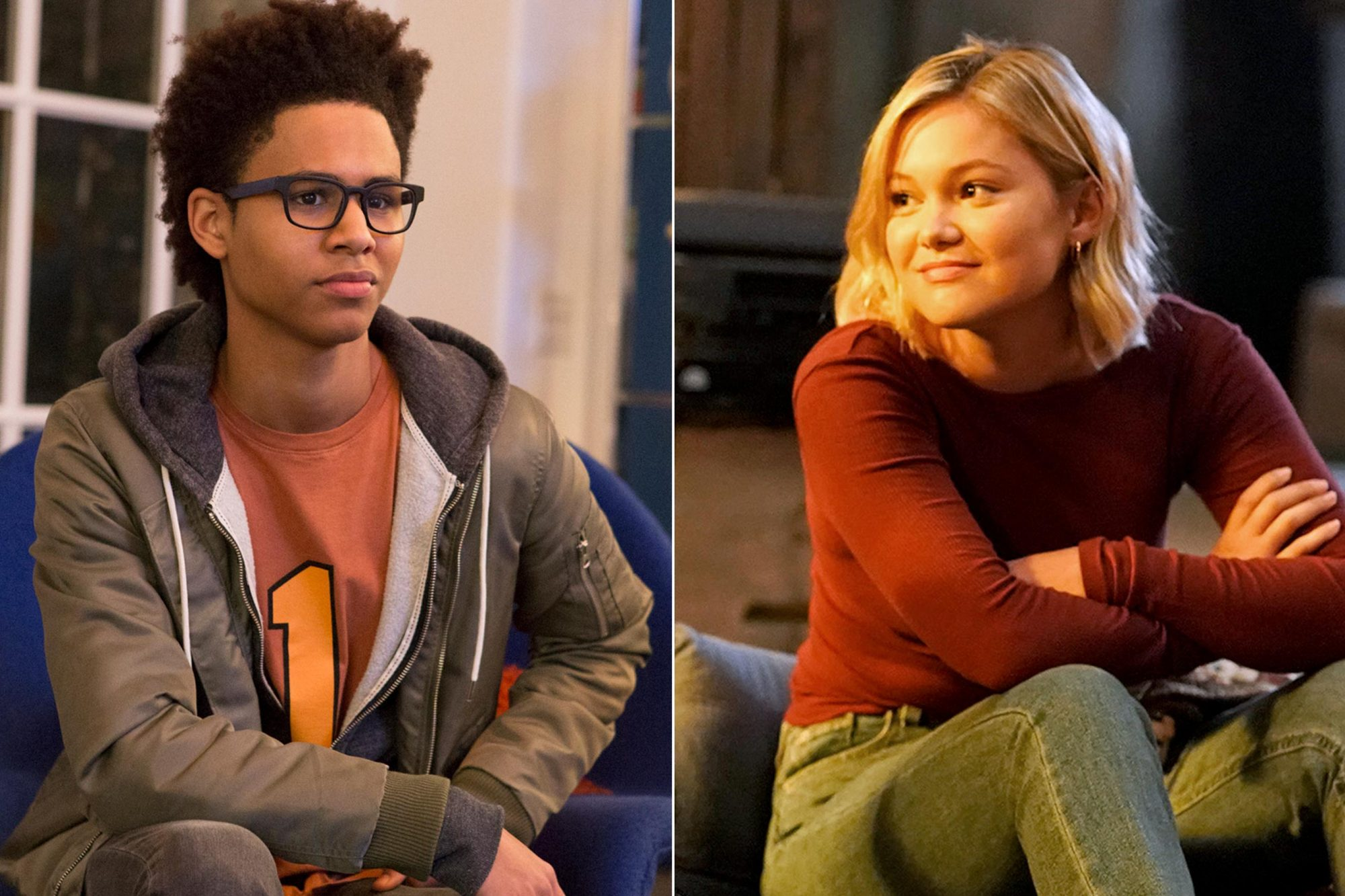 """MARVEL'S RUNAWAYS - """"Pilot"""" - Episode 101 - Every teenager thinks their parents are evil. What if you found out they actually were? Marvel's Runaways is the story of six diverse teenagers who can barely stand each other but who must unite against a common foe ñ their parents. The 10-episode series premieres Tuesday, November 21st. The series stars Rhenzy Feliz, Lyrica Okano, Virginia Gardner, Ariela Barer, Gregg Sulkin, Allegra Acosta, Annie Wersching, Ryan Sands, Angel Parker, Ever Carradine, James Marsters, Kevin Weisman, Brigid Brannah, James Yaegashi, Brittany Ishibashi, and Kip Pardue.Alex Wilder (Rhenzy Feliz), shown. (Photo by: Paul Sarkis/Hulu) MARVEL'S CLOAK & DAGGER - """"Restless Energy"""" - Now living very different lives, Tyrone and Tandy try to stay under the wire while still honing their powers. After coming to terms with their destiny, the two now find it difficult to just stand by and do nothing while bad things continue to happen throughout the city. Meanwhile, Brigid is struggling from her recovery. This episode of """"Marvel's Cloak & Dagger"""" airs Thursday, April 4 (8:00 – 9:00 p.m. ET/PT) on Freeform. (Freeform/Alfonso Bresciani) OLIVIA HOLT"""