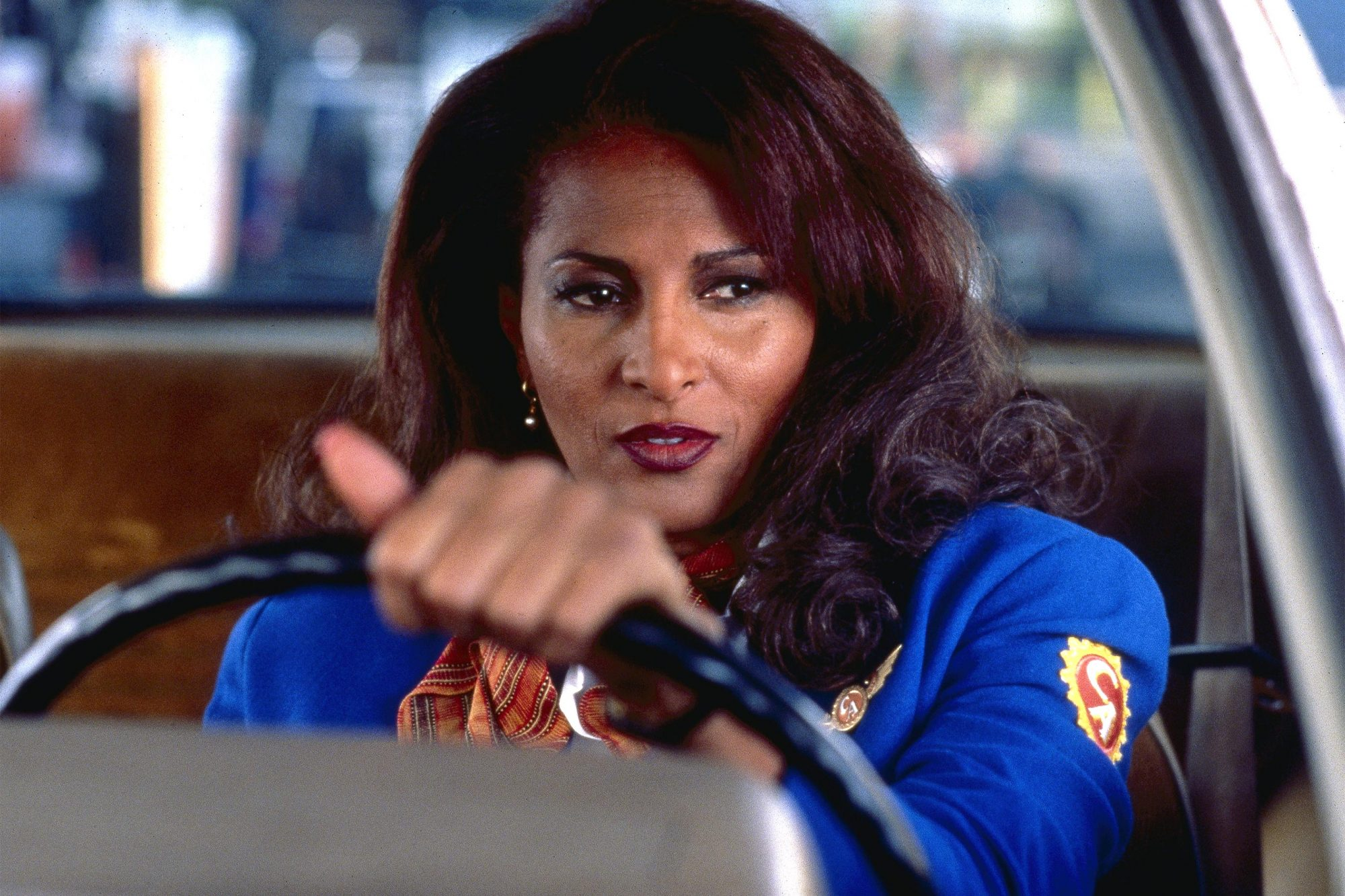 JACKIE BROWN, Pam Grier, 1997. (c) Miramax Films/ Courtesy: Everett Collection.