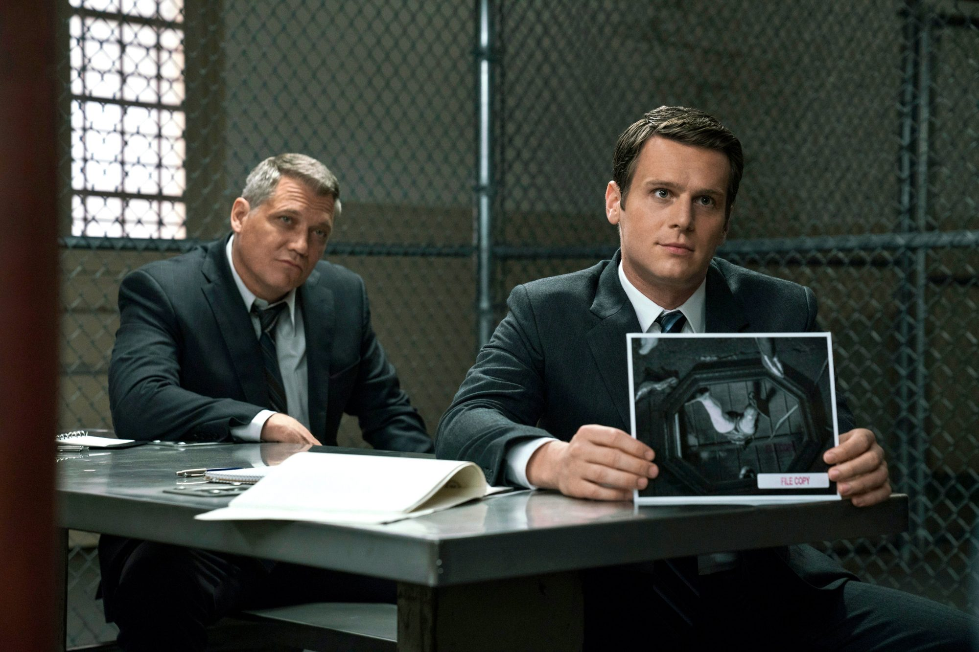 Mindhunter - Jonathan Groff and Holt McCallany