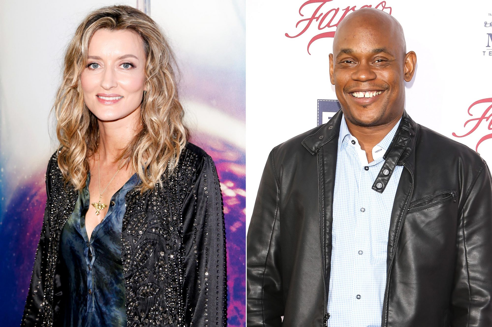 """LOS ANGELES, CA - SEPTEMBER 12: Natascha McElhone attends the premiere of Hulu's 'The First' at California Science Center on September 12, 2018 in Los Angeles, California. (Photo by Tibrina Hobson/Getty Images) LOS ANGELES, CA - APRIL 28: Bokeem Woodbine arrives at the for your consideration event for FX's """"Fargo"""" held at Paramount Pictures on April 28, 2016 in Los Angeles, California. (Photo by Michael Tran/FilmMagic)"""