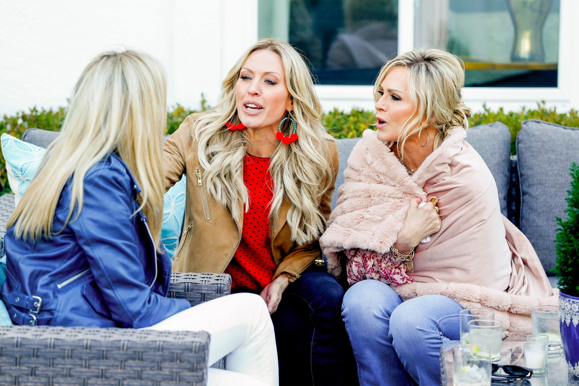 THE REAL HOUSEWIVES OF ORANGE COUNTY -- Episode 1402 -- Pictured: (l-r) Braunwyn Windham-Burke, Tamra Judge -- (Photo by: Phillip Faraone/Bravo)