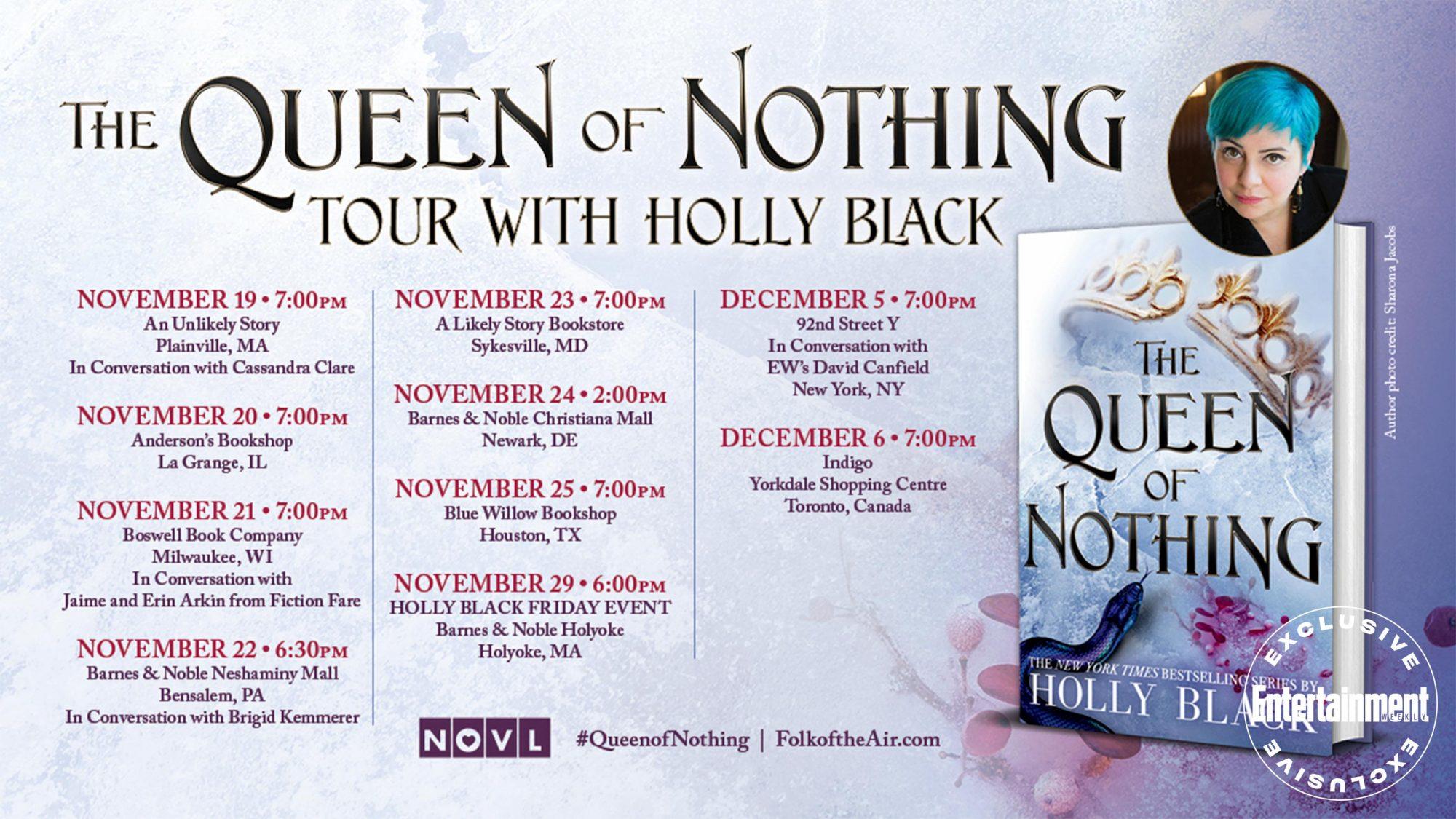 Holly Black tour announcement CR: Hachette