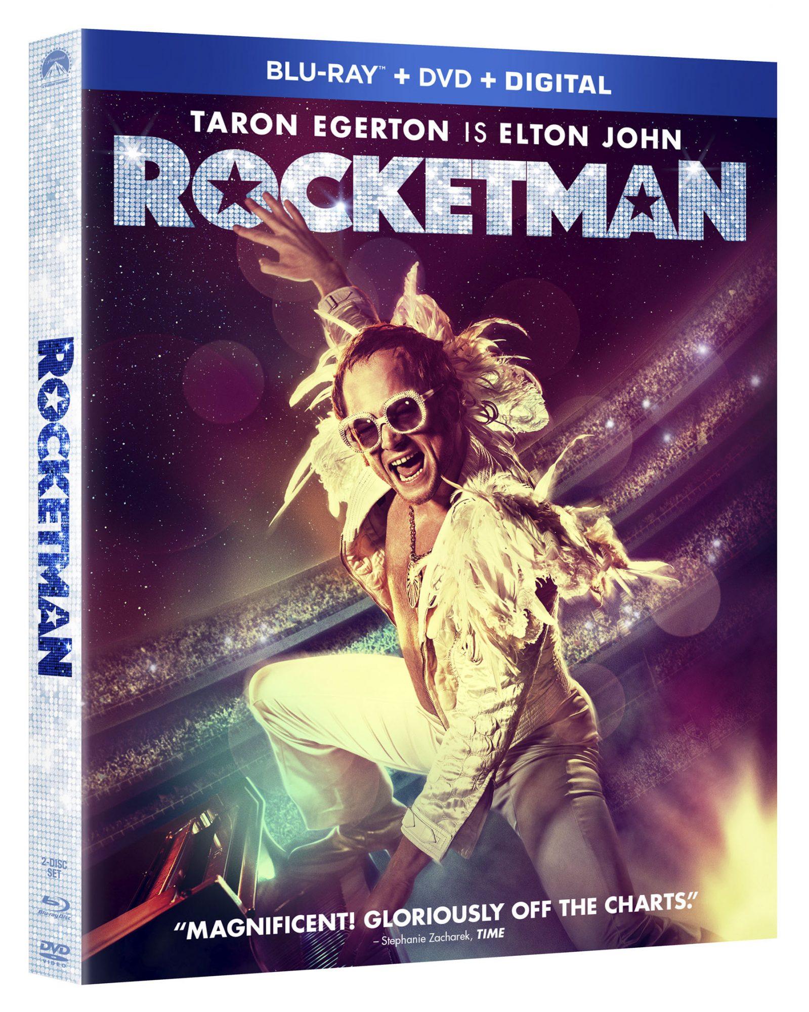 Rocketman DVD/BLU-RAY box art CR: Paramount Pictures