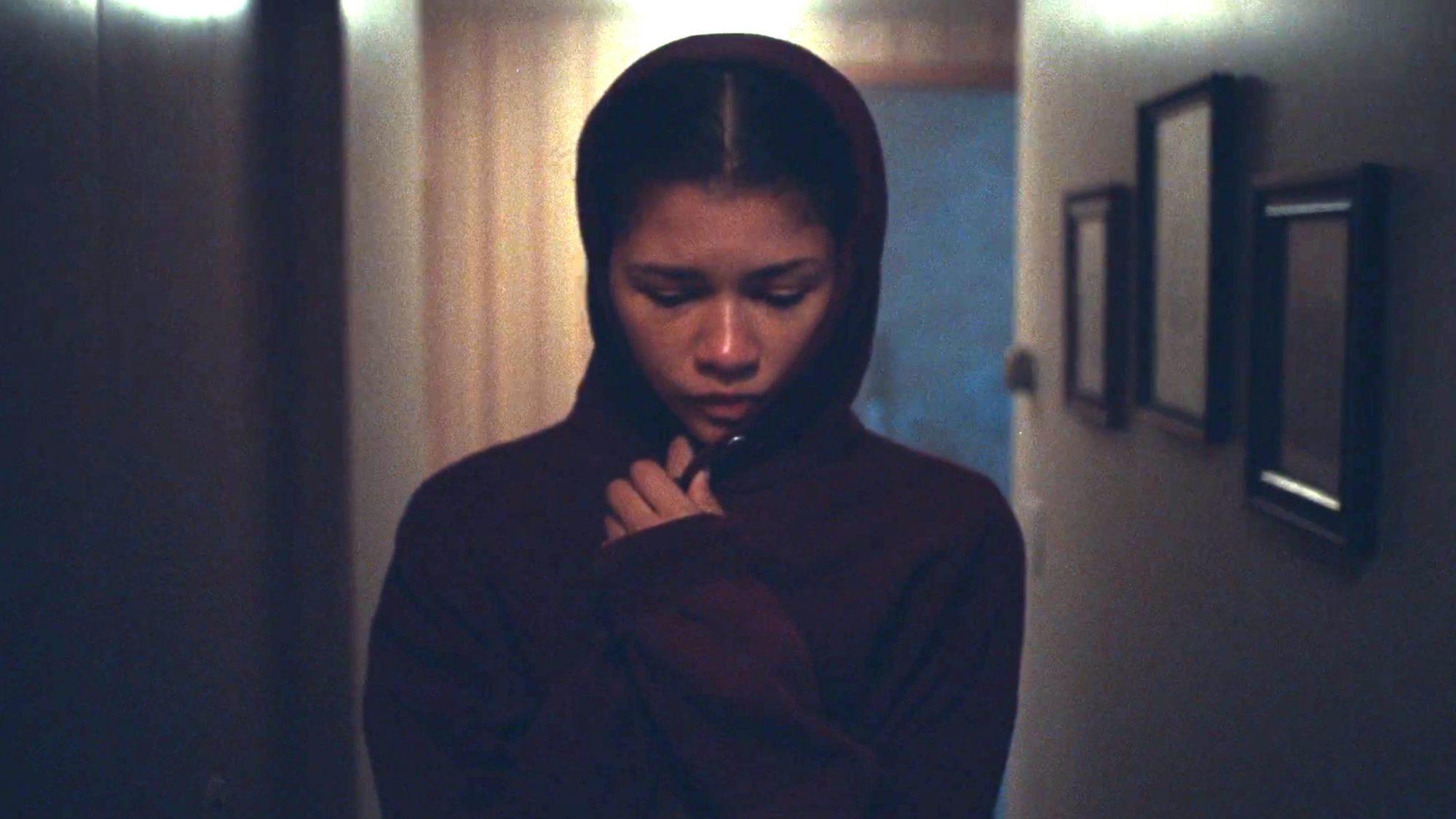 Euphoria (screen grab) Season 1, episode 8 Zendaya CR: HBO