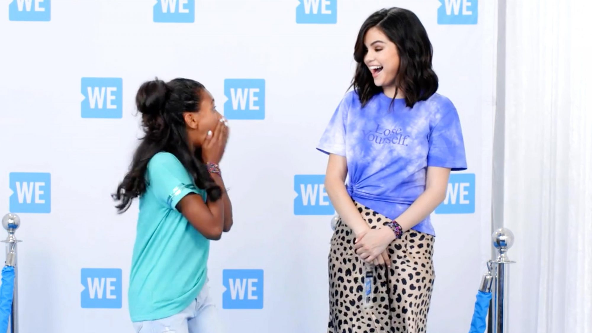 Selena Gomez (screen grab) The WE Day Special | August 9th on ABC