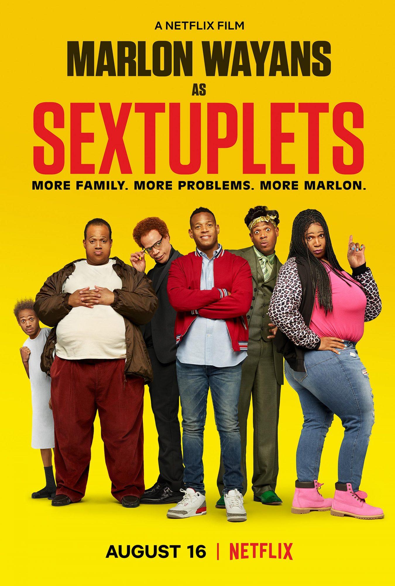 Sextuplets key art Marlon Wayans CR: Netfilx