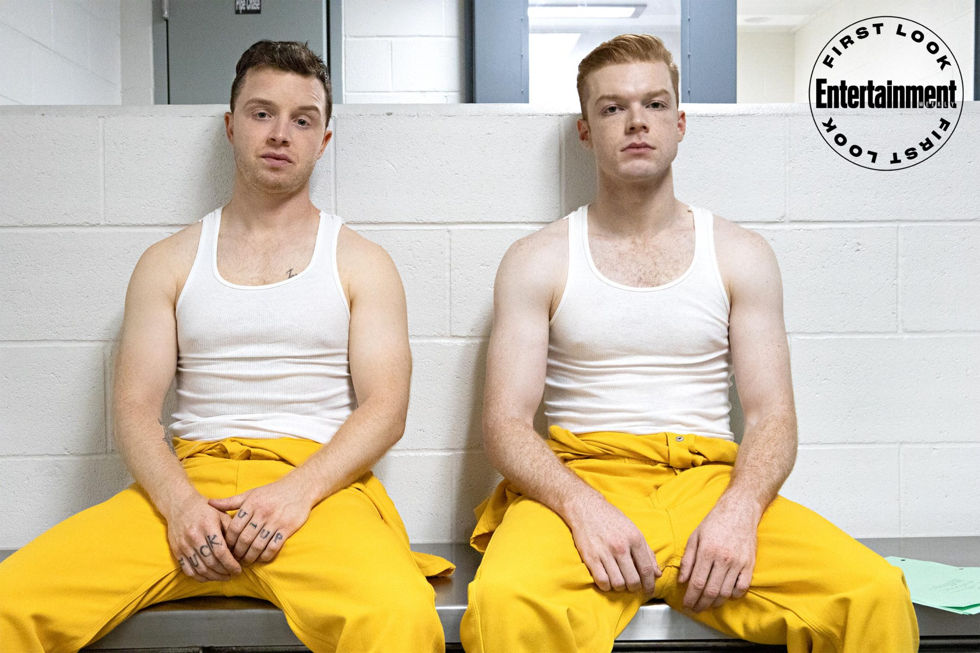 SHAMELESS (L-R): Noel Fisher as Mickey Milkovich and Cameron Monaghan as Ian Gallagher