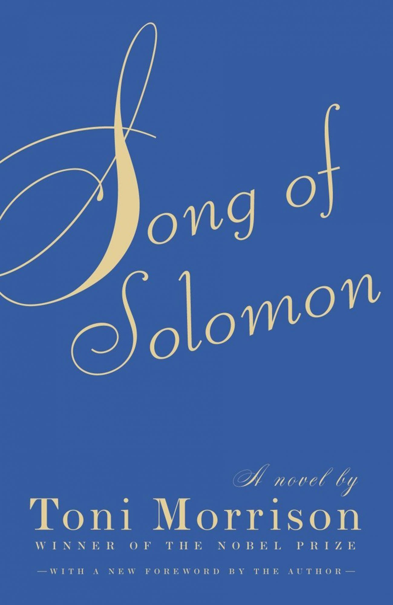 Song of Solomon by Toni MorrisonPublisher: Vintage