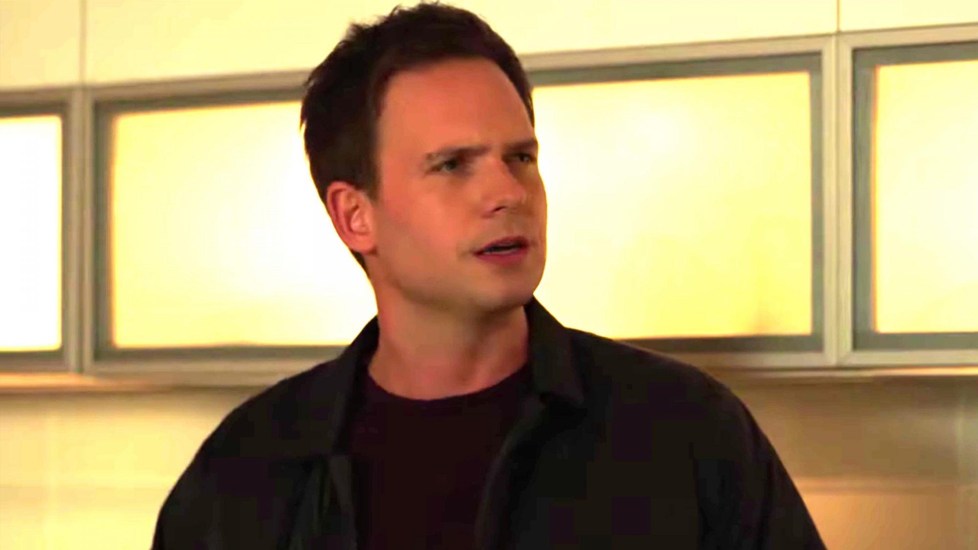 SUITS -- Episode 905 (screen grab) Patrick J. Adams CR: USA Network