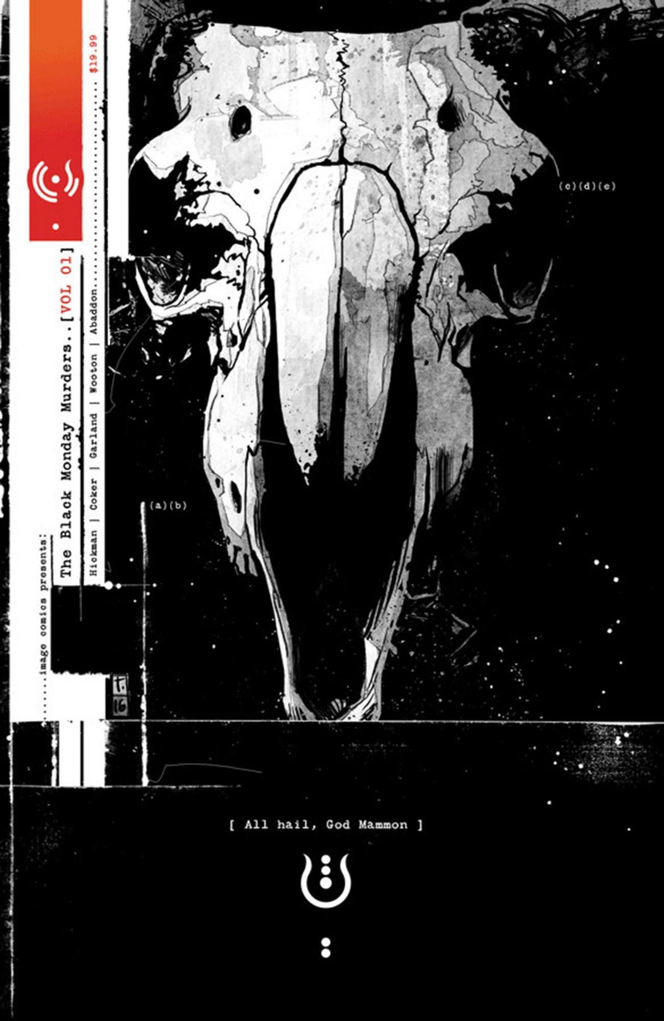 The Black Monday Murders Vol 01