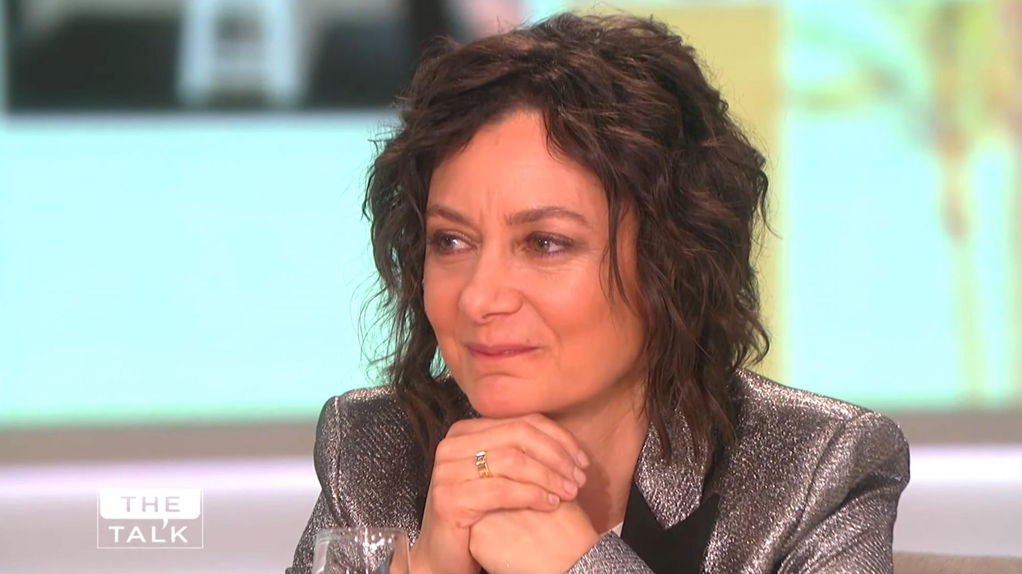The Talk (screen grab) Sara Gilbert CR: CBS