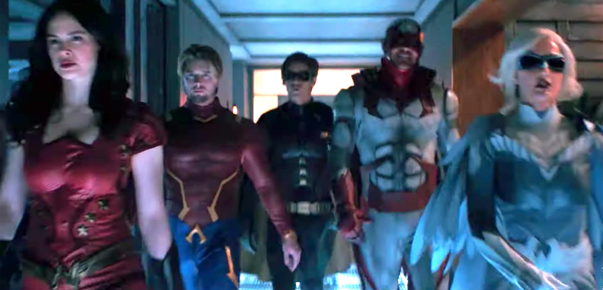 Titans | Recap & First Look | DC Universe | The Ultimate Membership (screen grab) https://www.youtube.com/watch?v=evBvLB_D6YA CR: DC Universe